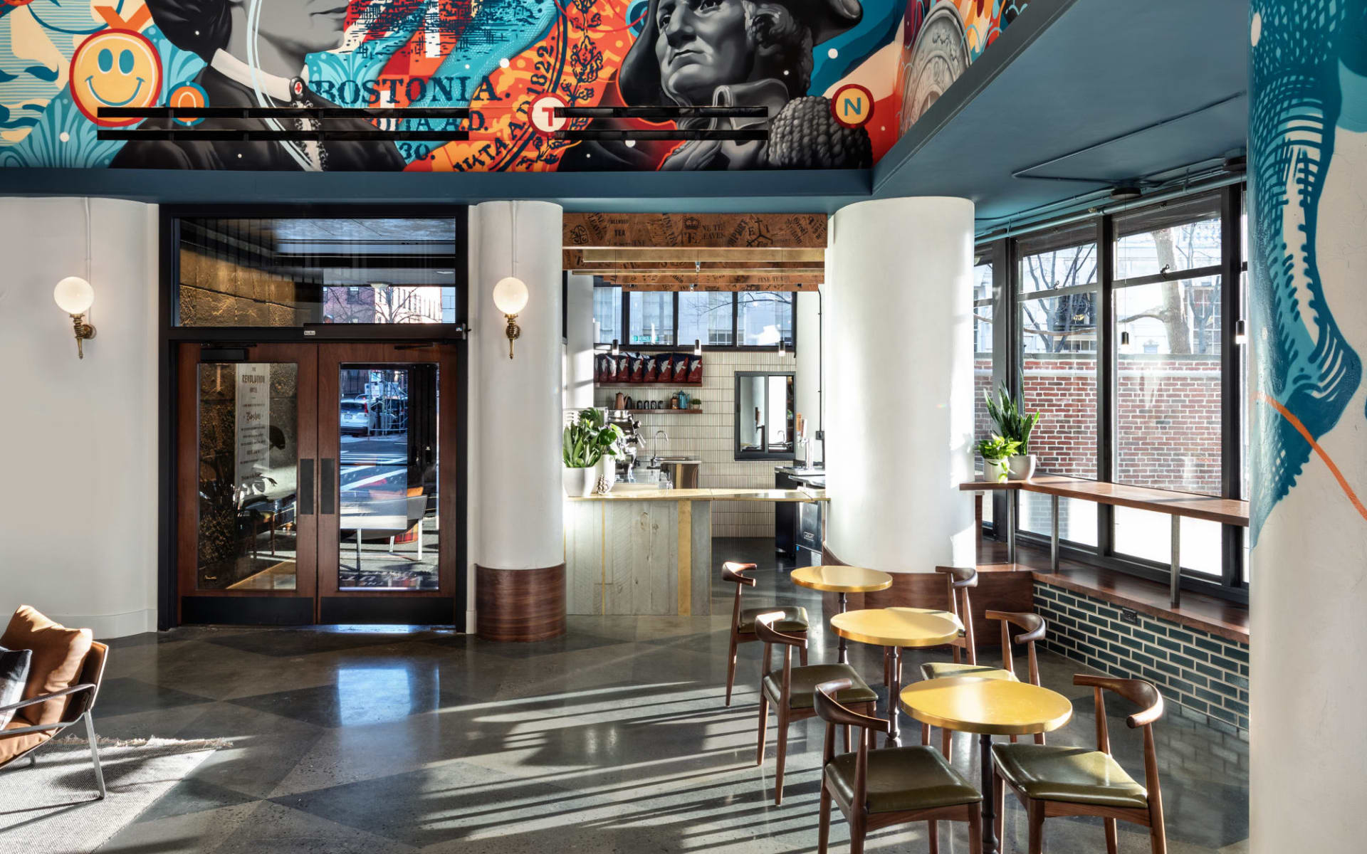The Revolution Hotel in Boston: Facilities_The Revolution_Lobby_Tourmappers