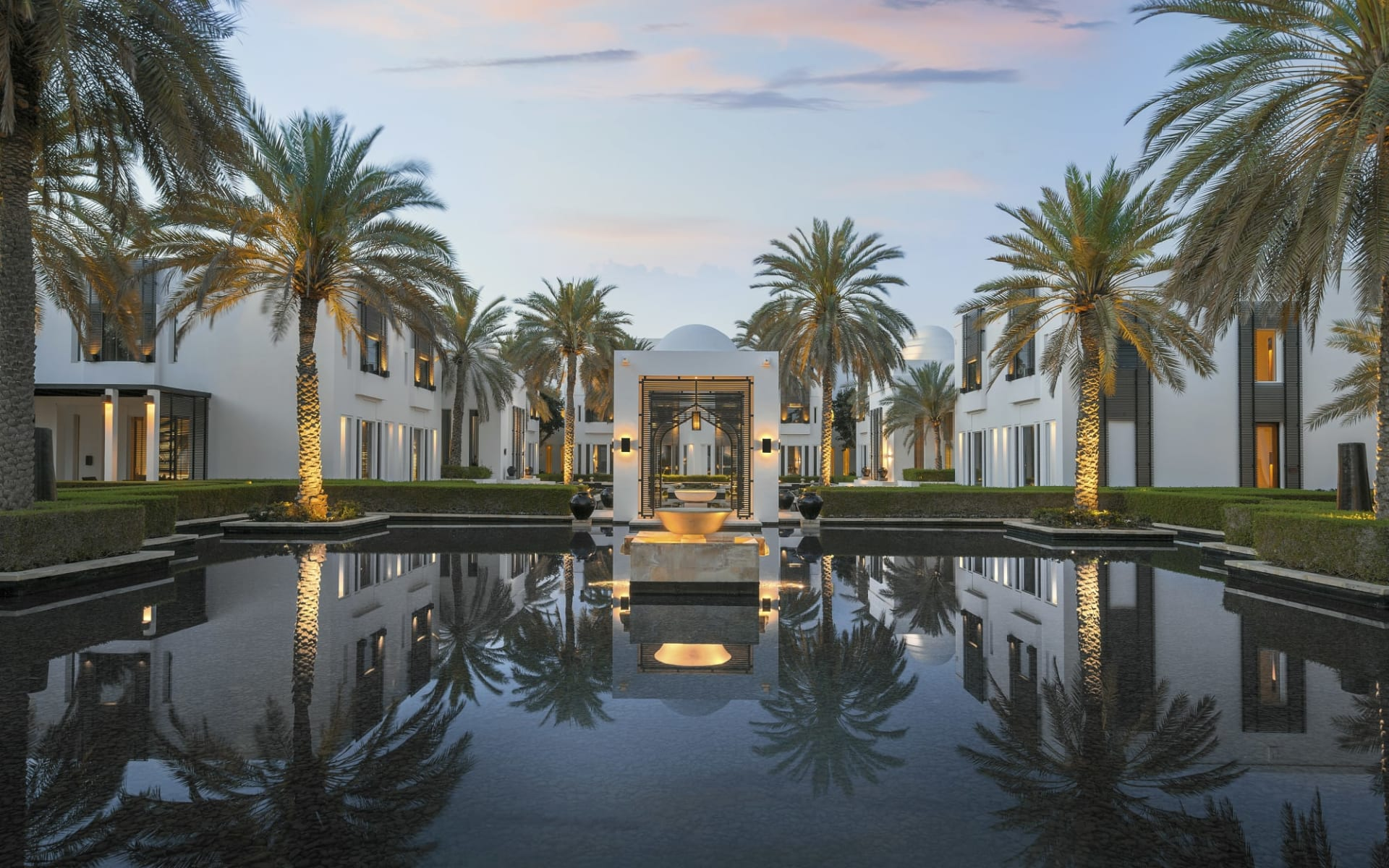 The Chedi Muscat: The Watergardens