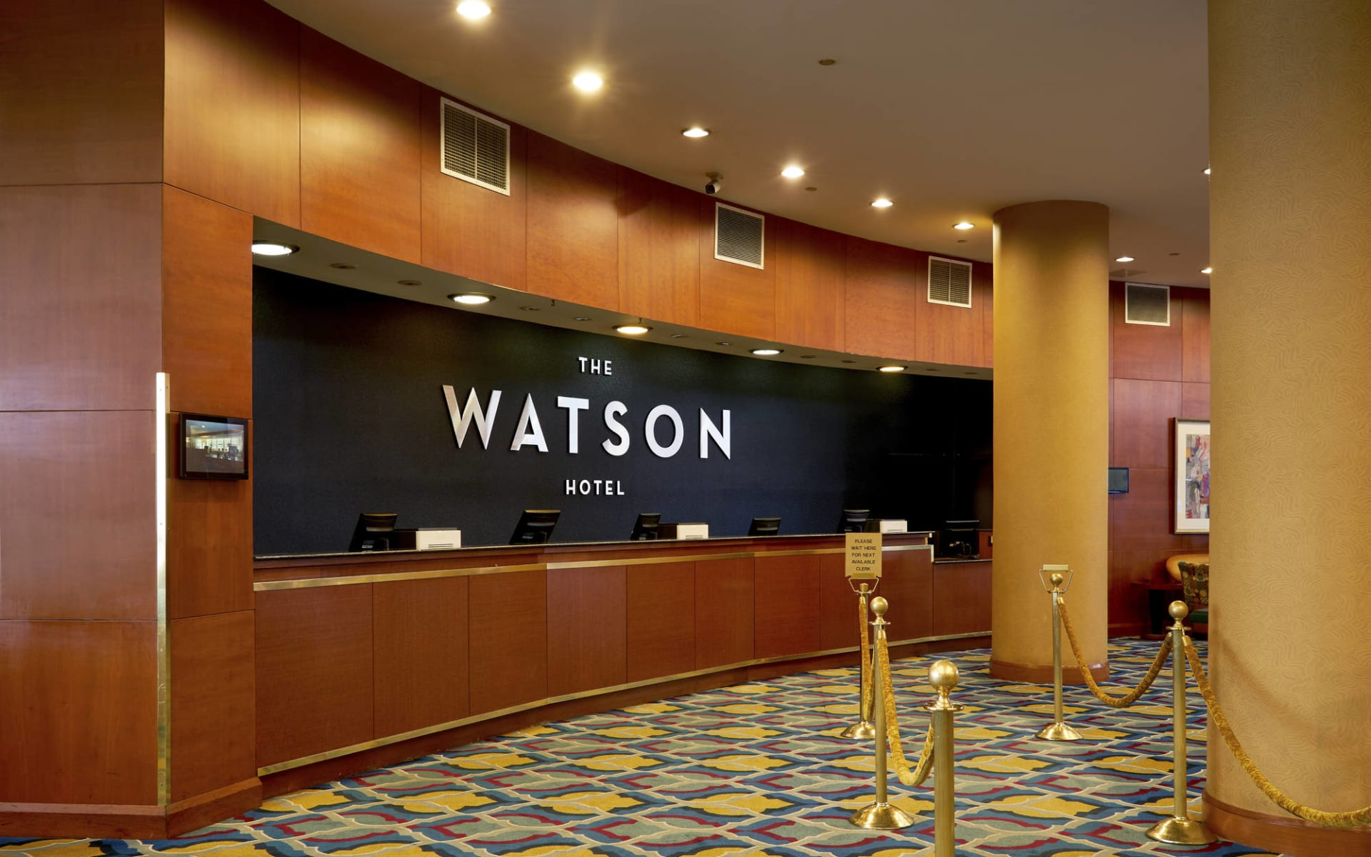 The Watson Hotel in New York - Manhattan:  The Watson - Front Desk