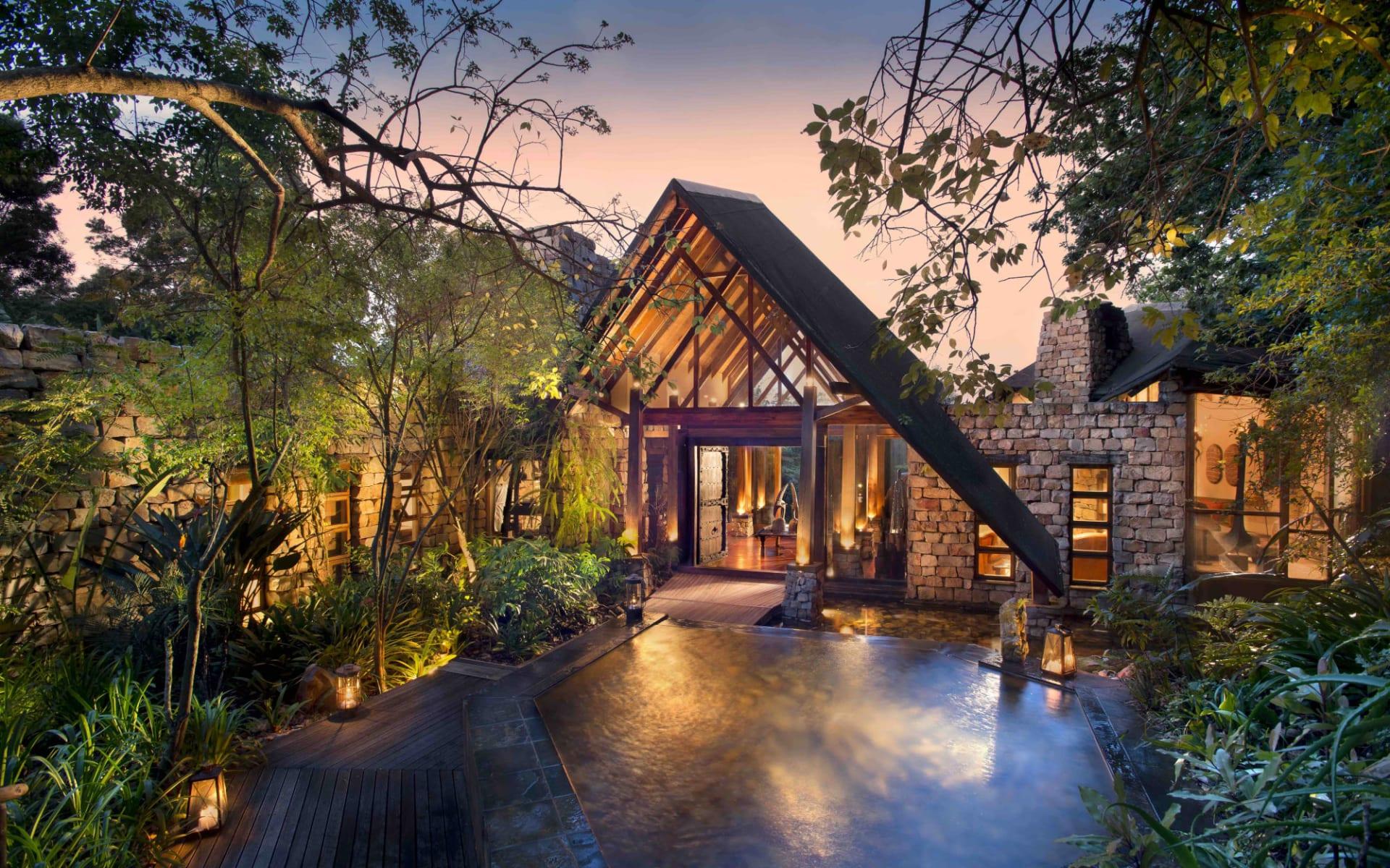 Tsala Treetop Lodge in Plettenberg Bay: Tsala - Main Entrance