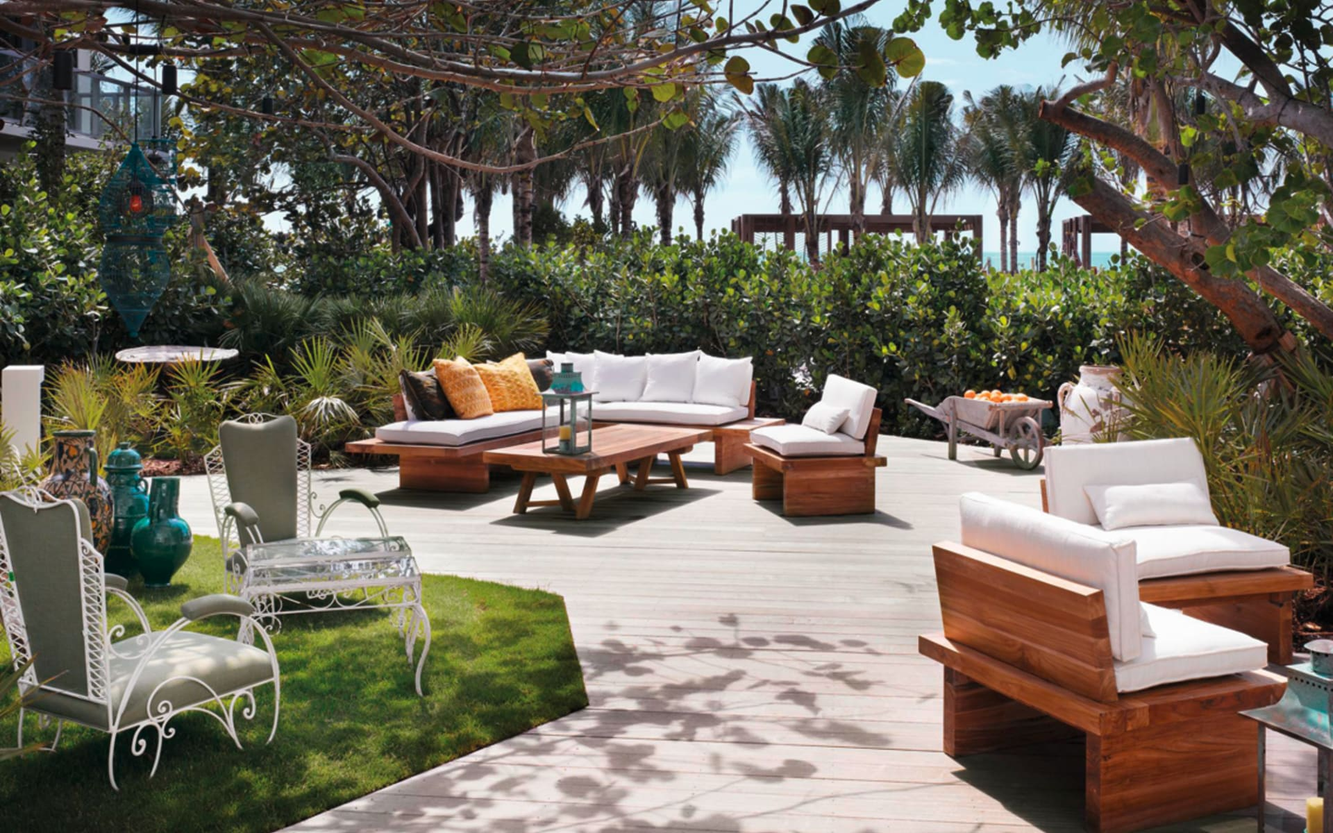 W South Beach in Miami Beach: Gartenanlage