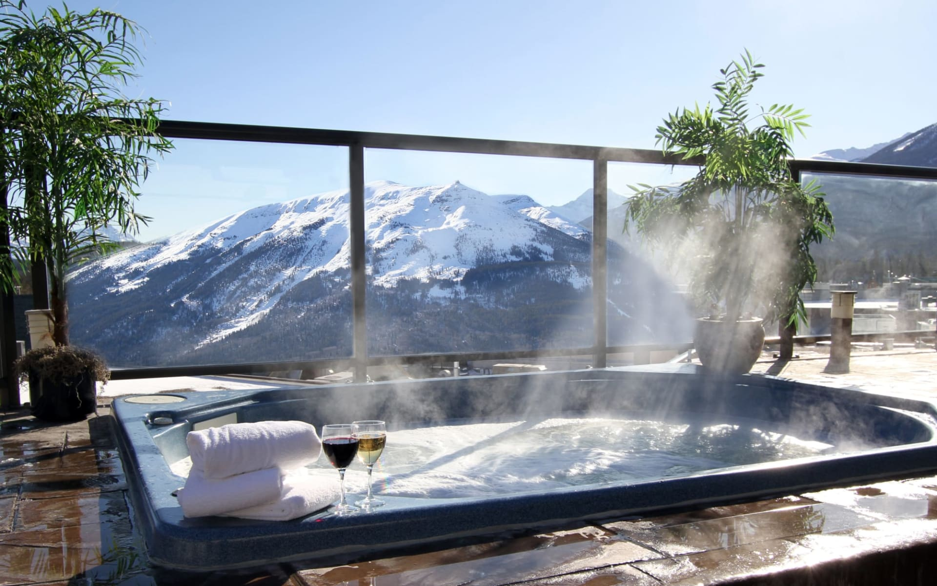 Whistler's Inn in Jasper:  Whistler's Inn_HotTub