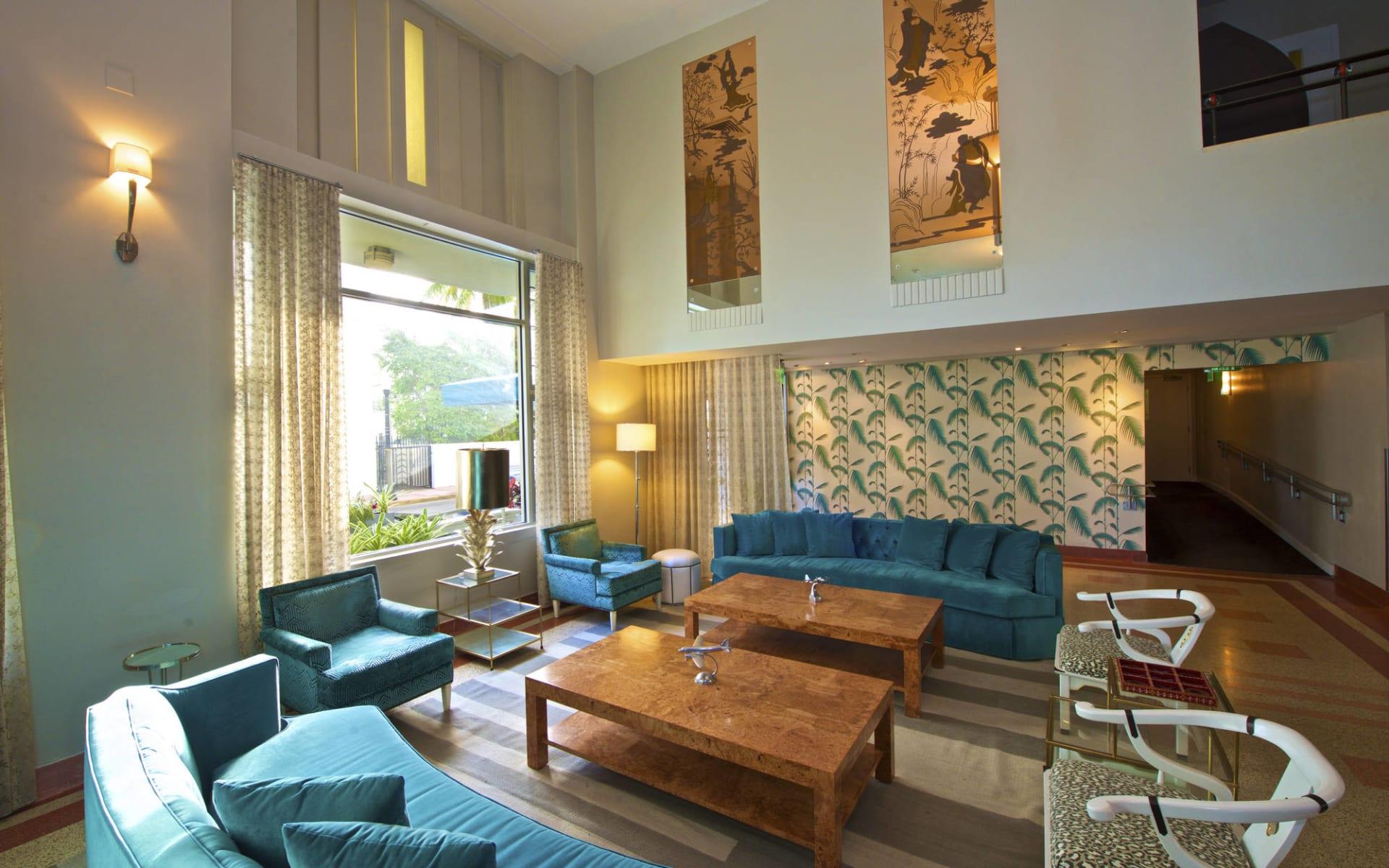 Winter Haven in Miami Beach:  Winterhaven - Hotellobby