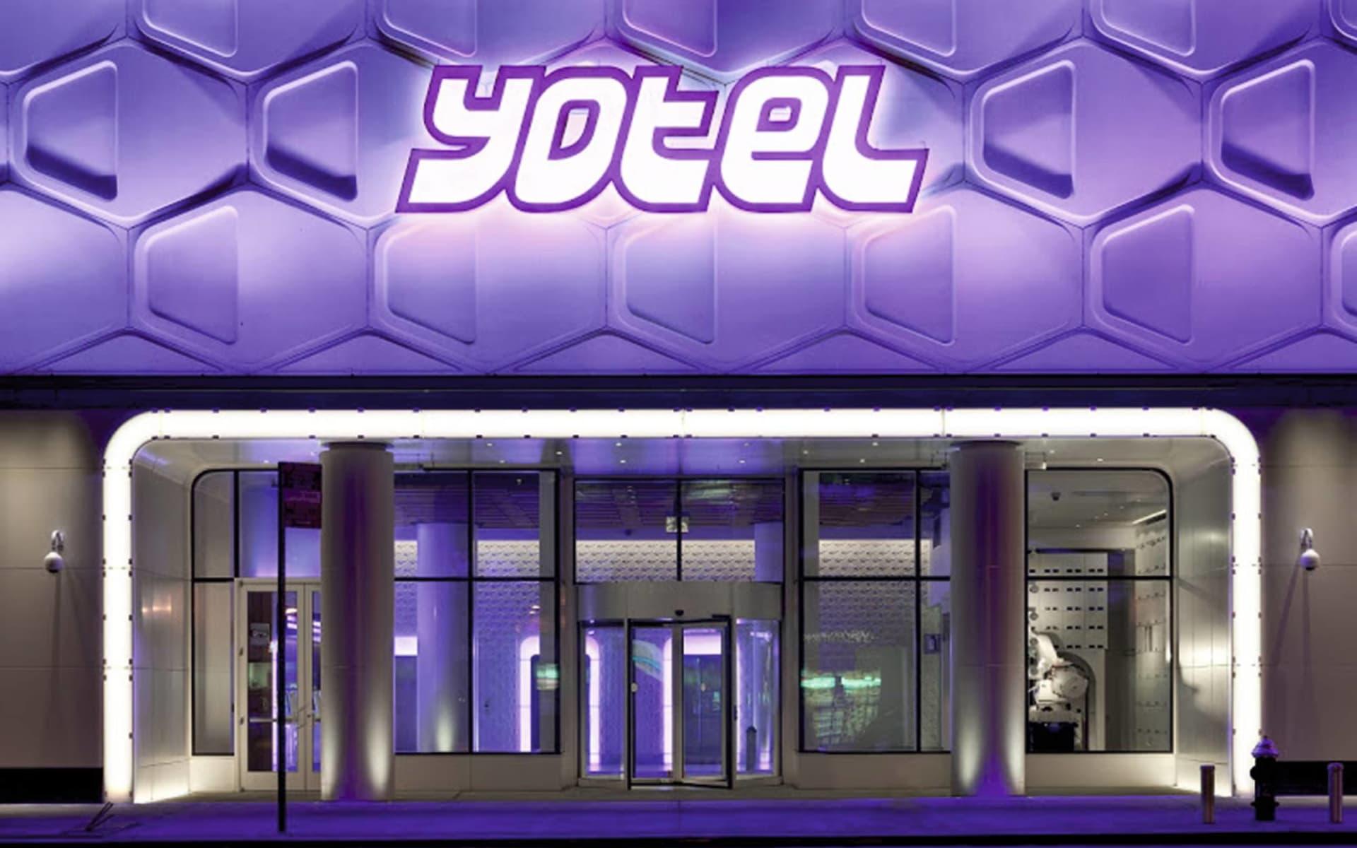 Yotel New York in New York - Manhattan: facilities yotel new york hoteleingang