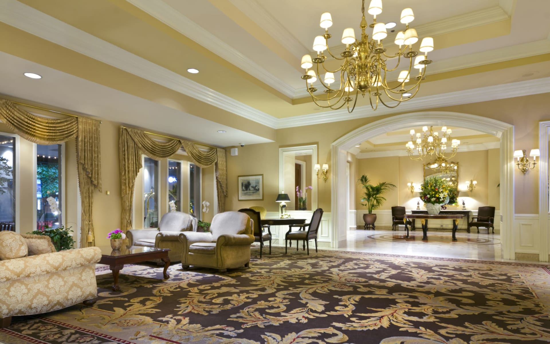 The Sutton Place Hotel in Vancouver:  YVRSP_lobby_001
