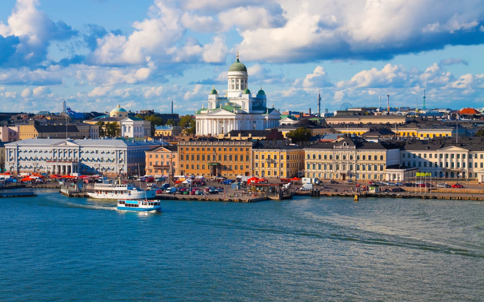 Sokos Hotel Vaakuna in Helsinki: Finnland Helsinki Stadtpanorama