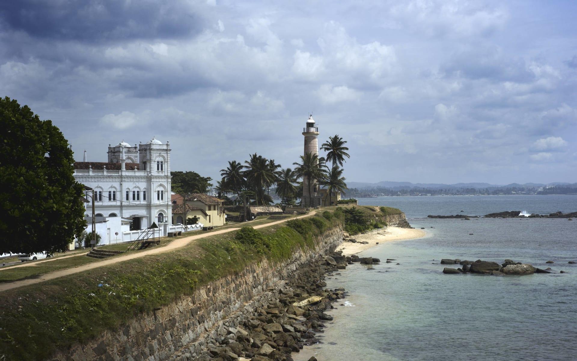 Sri Lanka für Geniesser ab Colombo: Galle with watchtower