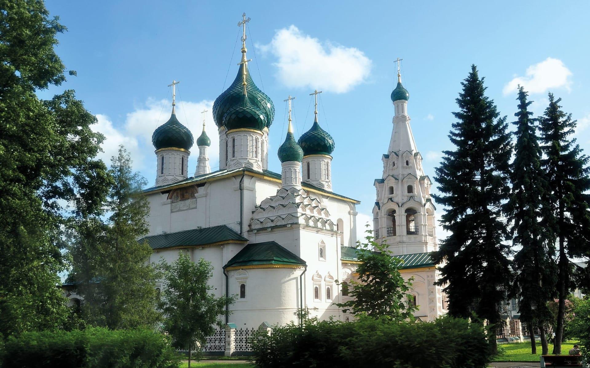 Goldener Ring - das alte Russland ab Moskau: Goldener Ring_Jaroslawl