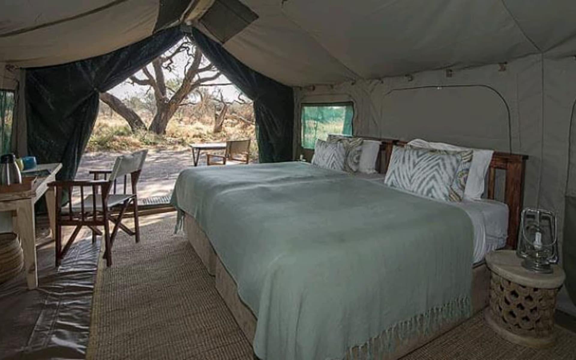 Gomoti Plains Camp in Okavango Delta: Gomoti Tented Camp