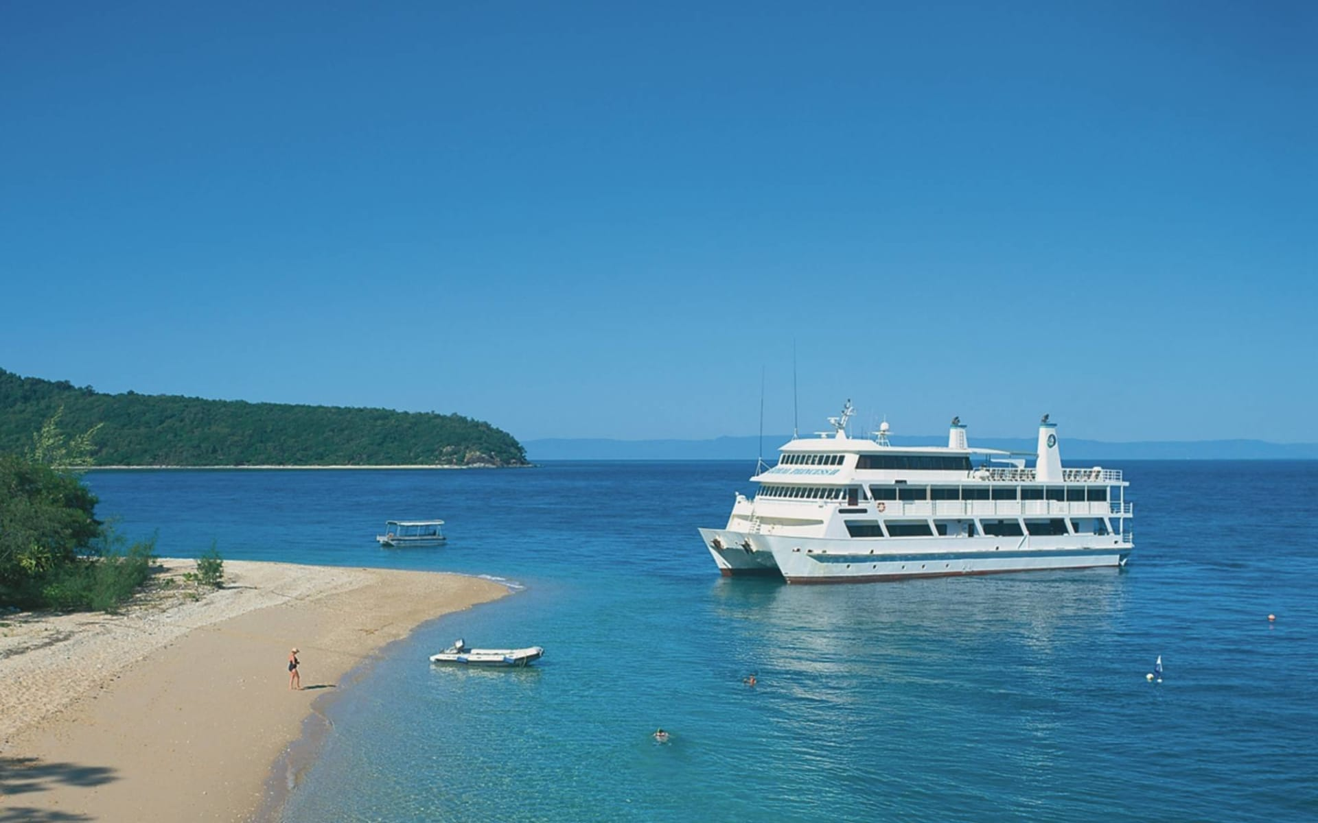 Coral Expeditions / südliches Barrier Reef ab Cairns: Great Barrier Reef - Expedition mit der Coral Expeditions II