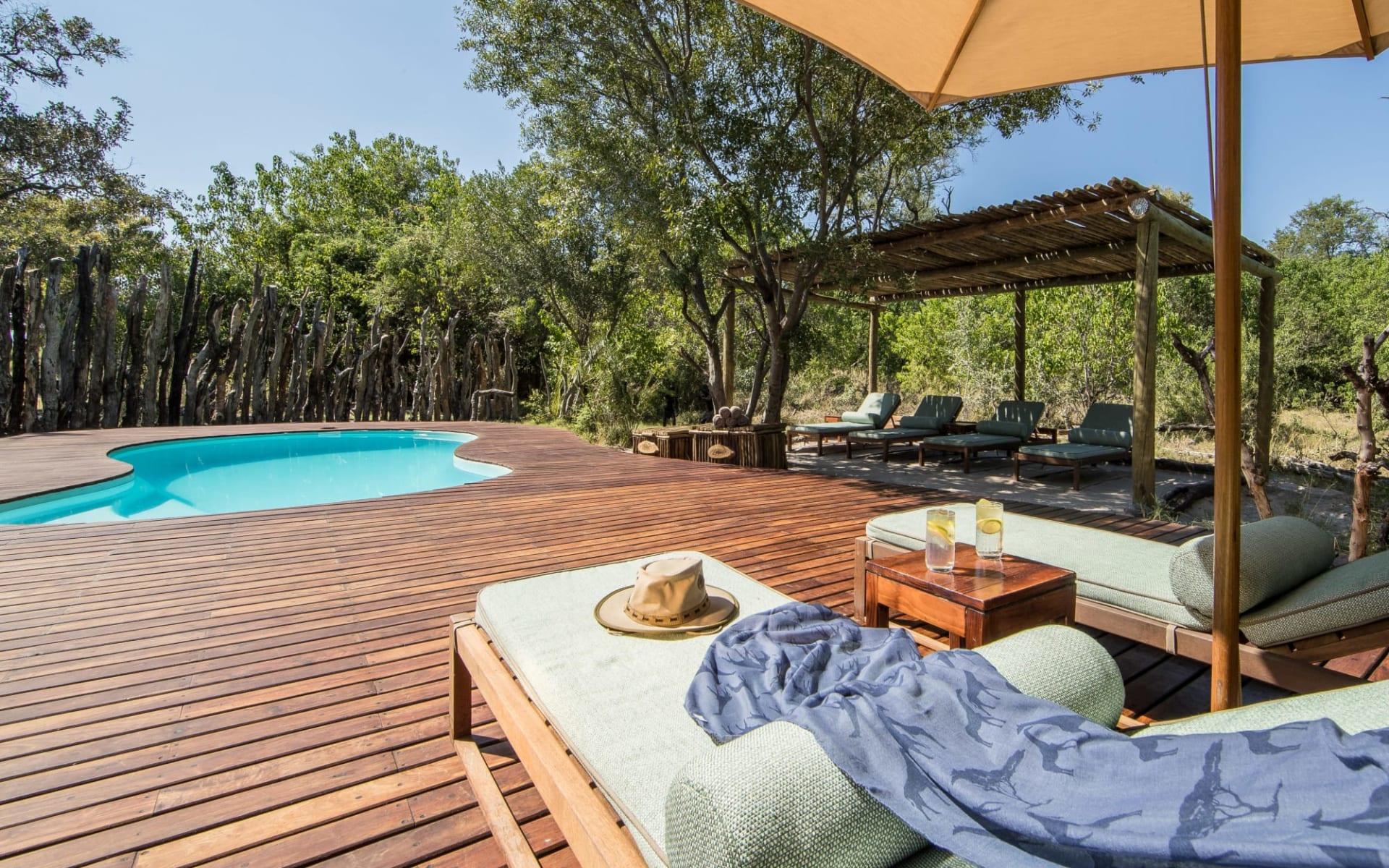 Kanana Camp in Okavango Delta: Guest Pool