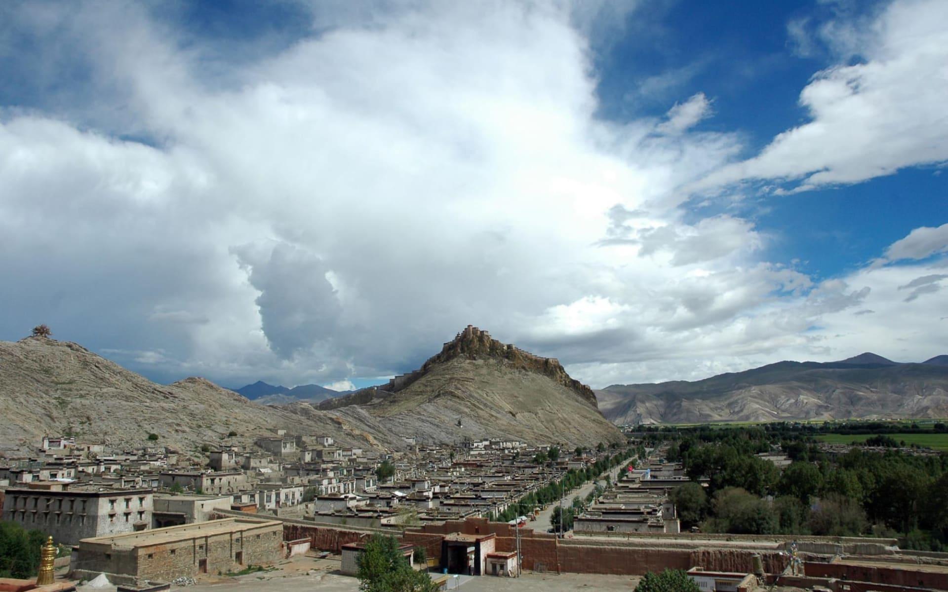 Die Magie des Tibets - Basis & Mt. Everest & Tsetang ab Lhasa: Gyantse overview
