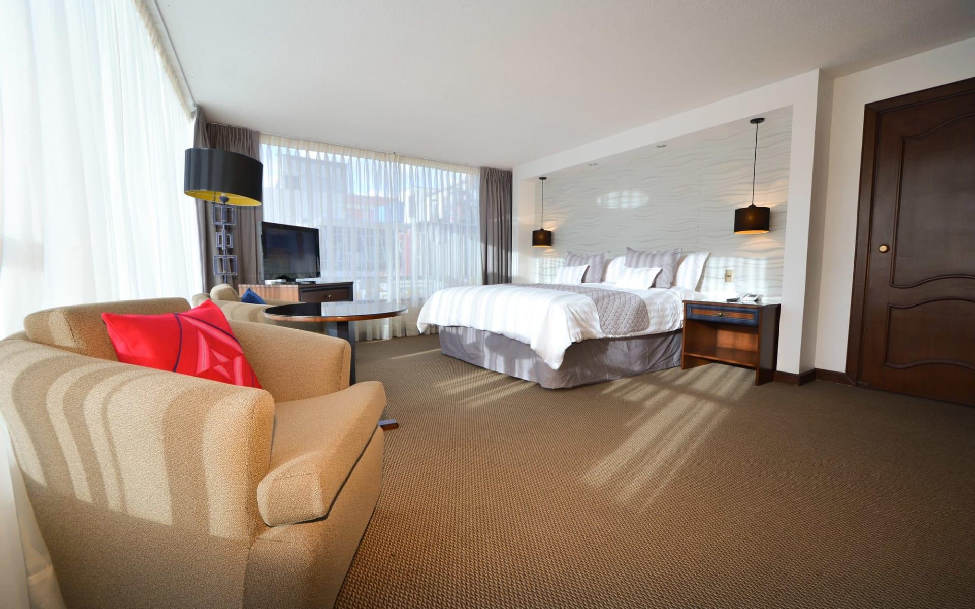 Hotel Presidente in La Paz: Habitacion remodelada una cama