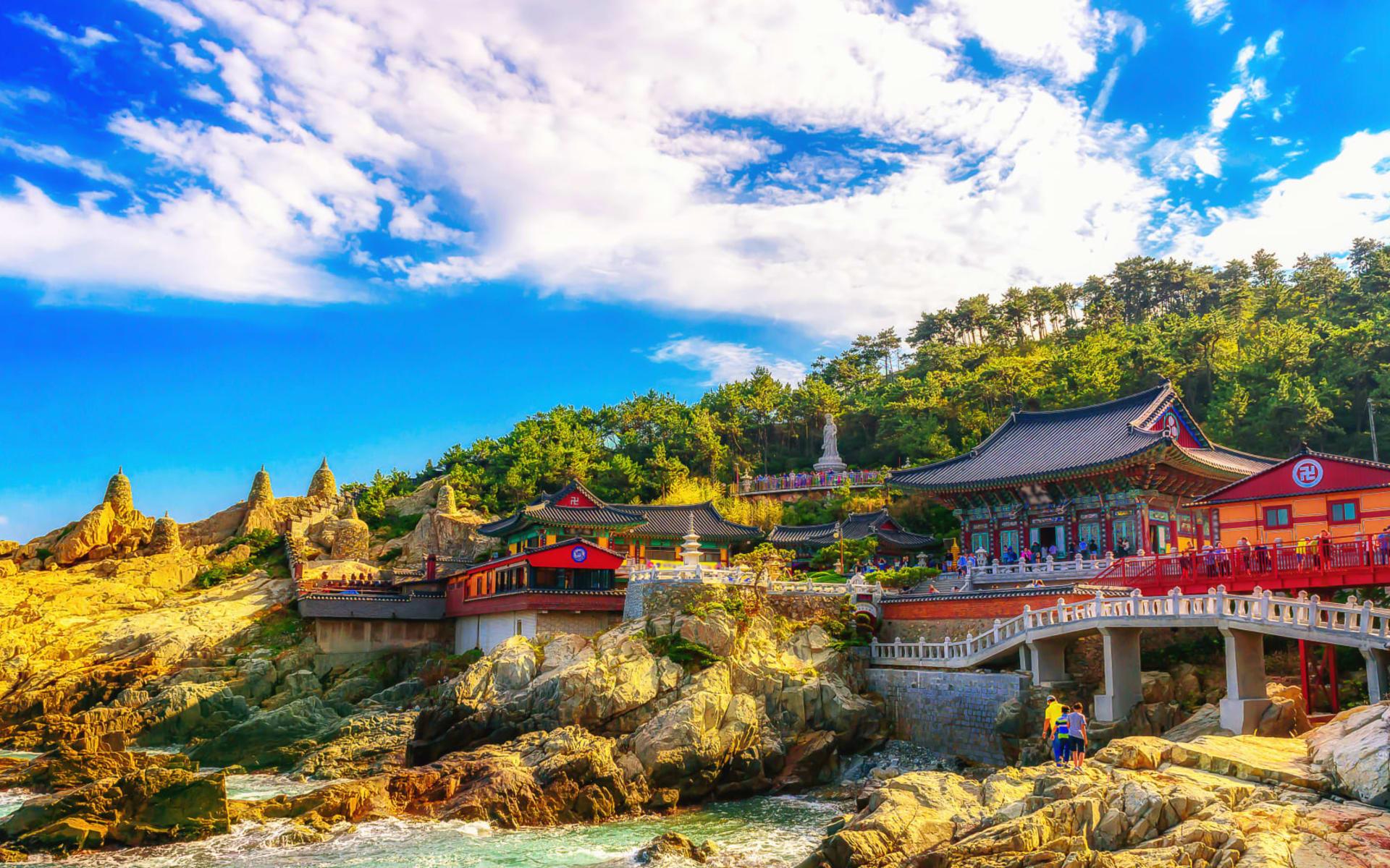 Südkorea Kompakt ab Seoul: Haedong Yonggungsa Temple and Haeundae Sea in Busan