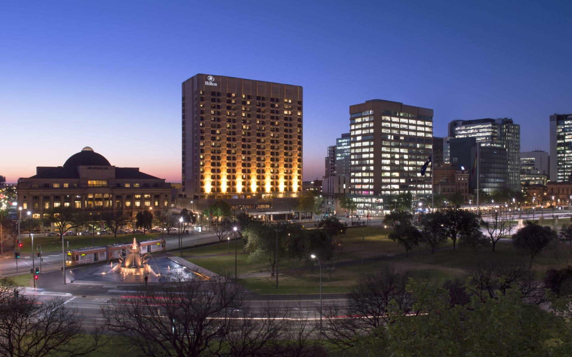 Hilton Adelaide: Hilton Adelaide exterior