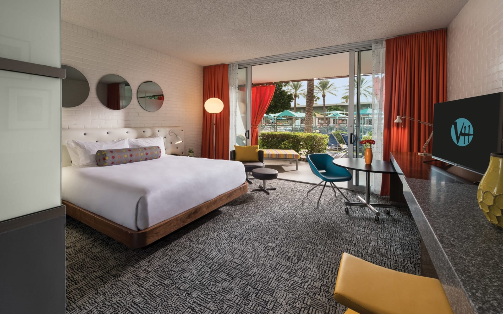 Hotel Valley Ho in Scottsdale: Hotel Valley Ho - Cabana Guest Room