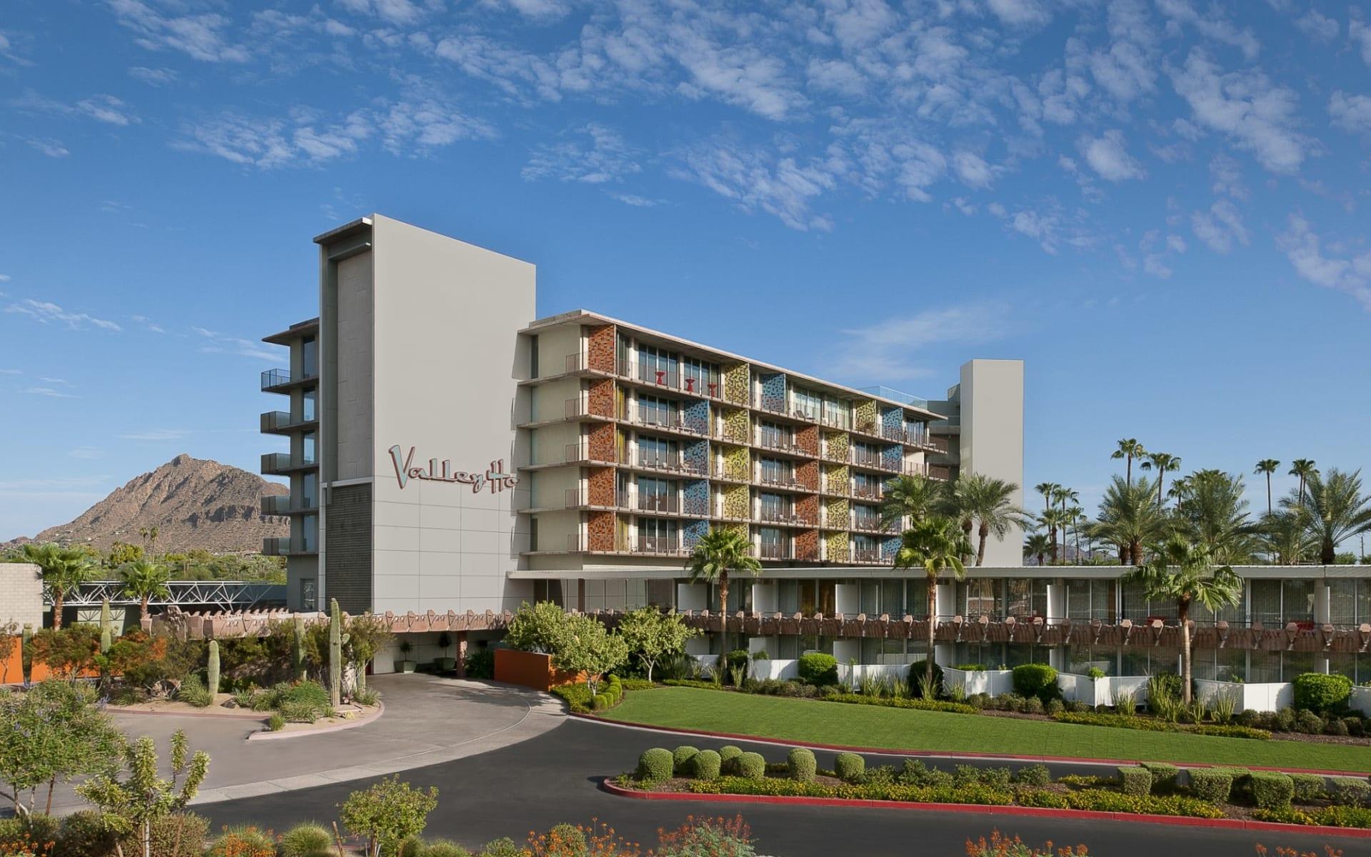 Hotel Valley Ho in Scottsdale: Hotel Valley Ho - Entrance