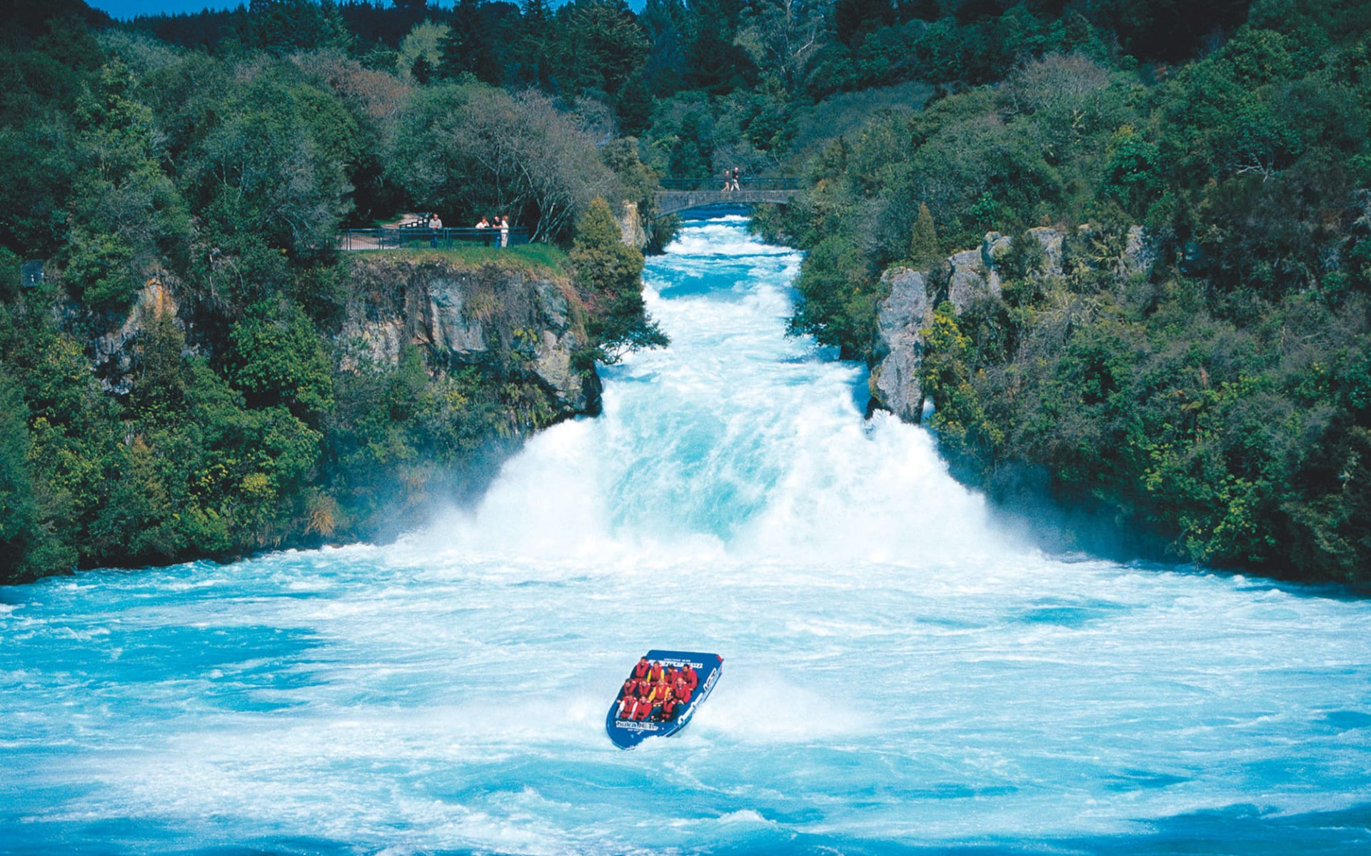 Neuseeland entdecken (AAT Kings) ab Christchurch: Huka Falls - Jetboat