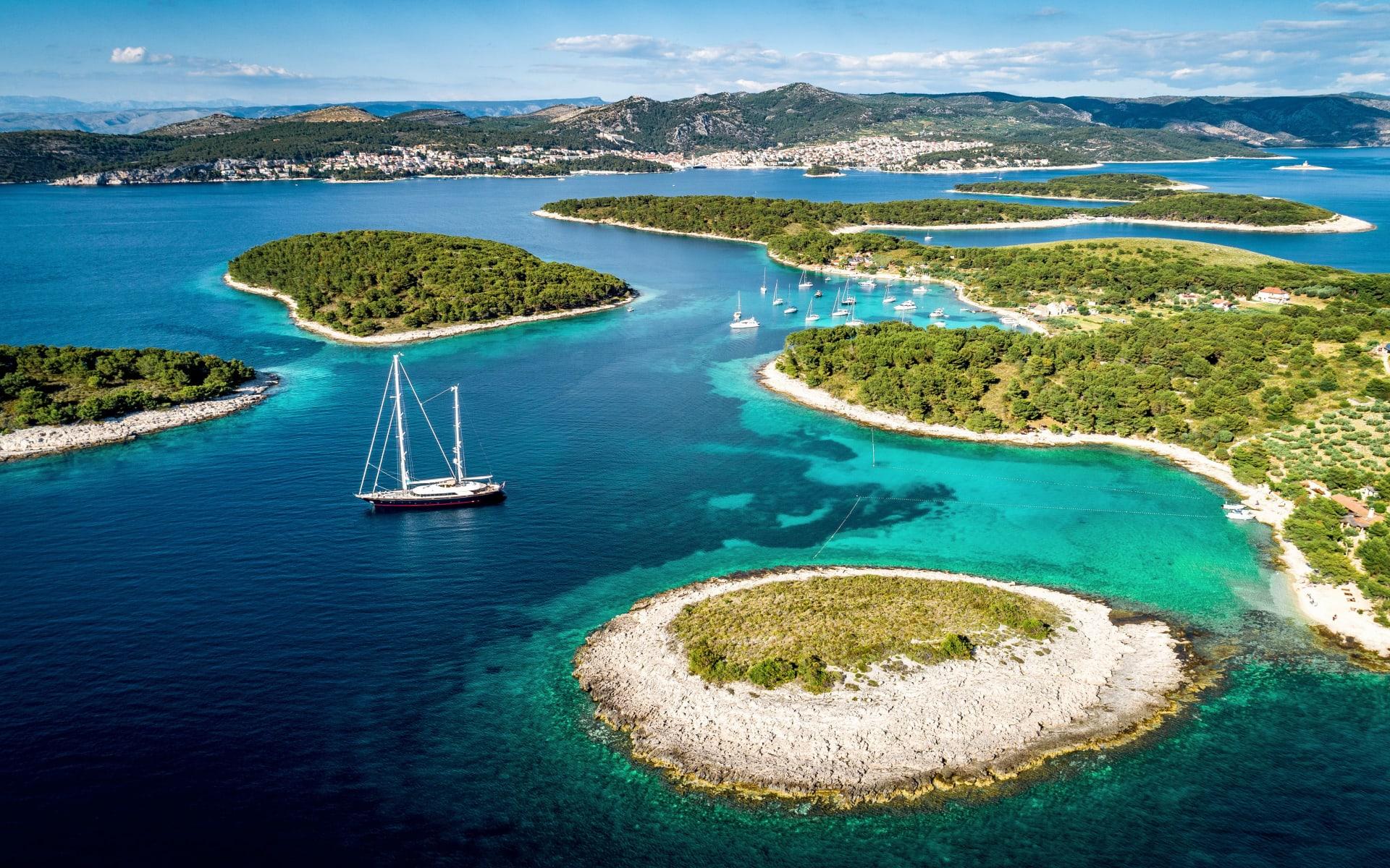 Badeferien im Maslina Resort ab Hvar: Hvar_Inseln_