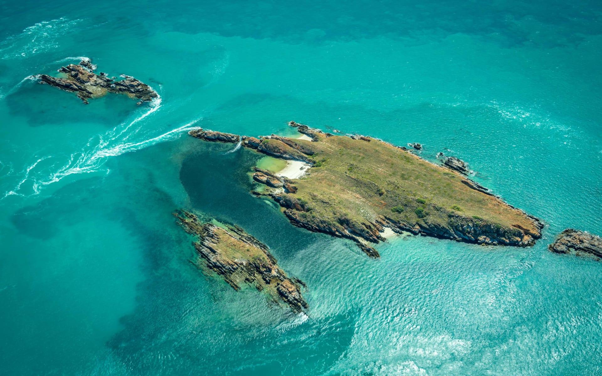 Kimberley Quest ab Broome: Inseln auf den Buccaneer Archipelago