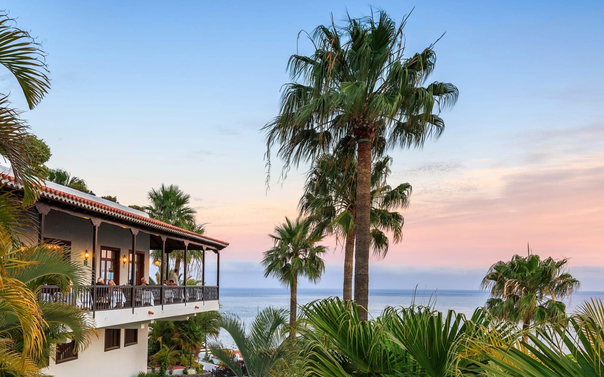 Hotel Jardín Tecina in La Gomera: JardinTecina_Aussicht1