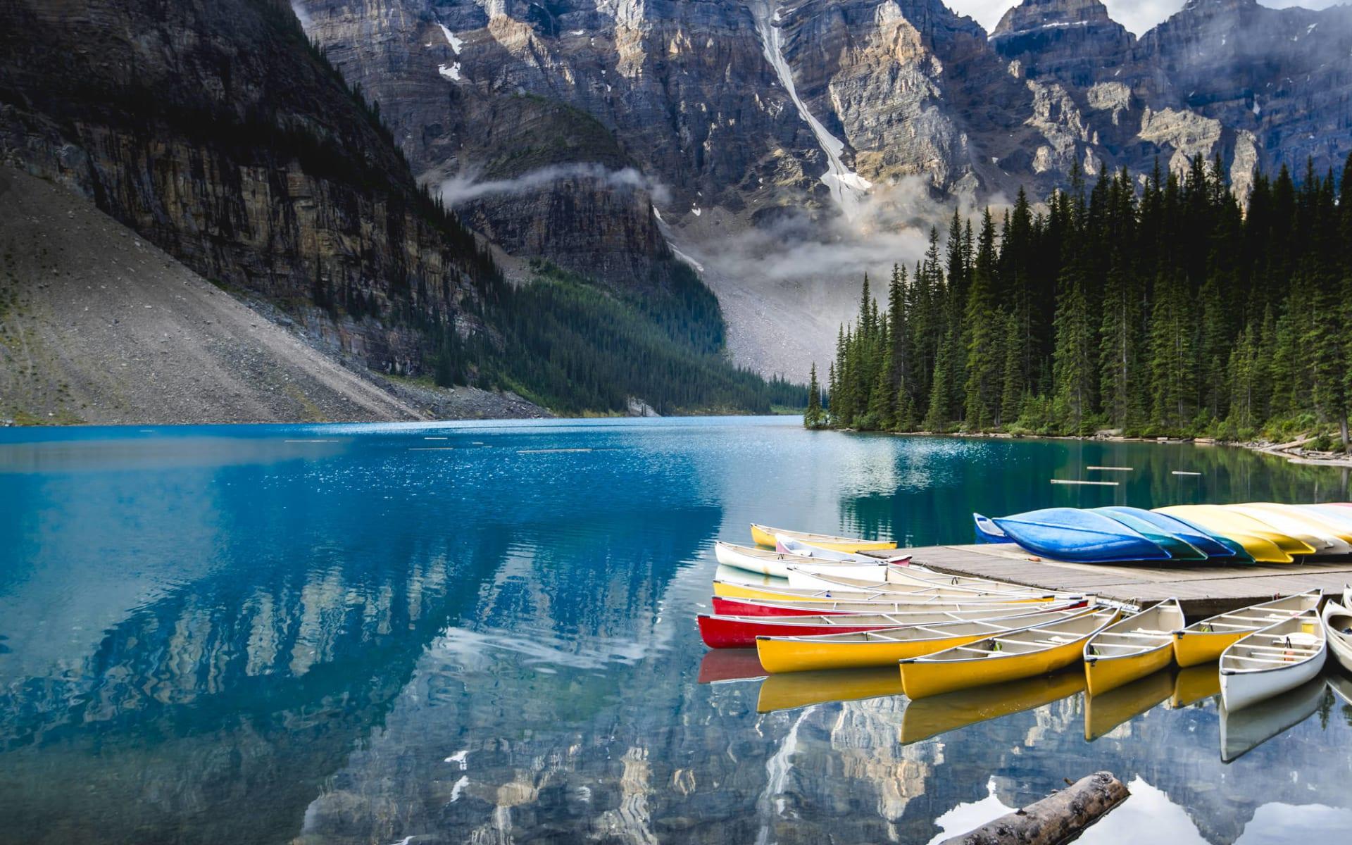 Westkanada Classic 22 Tage ab Vancouver: Banff Nationalpark - Moraine Lake