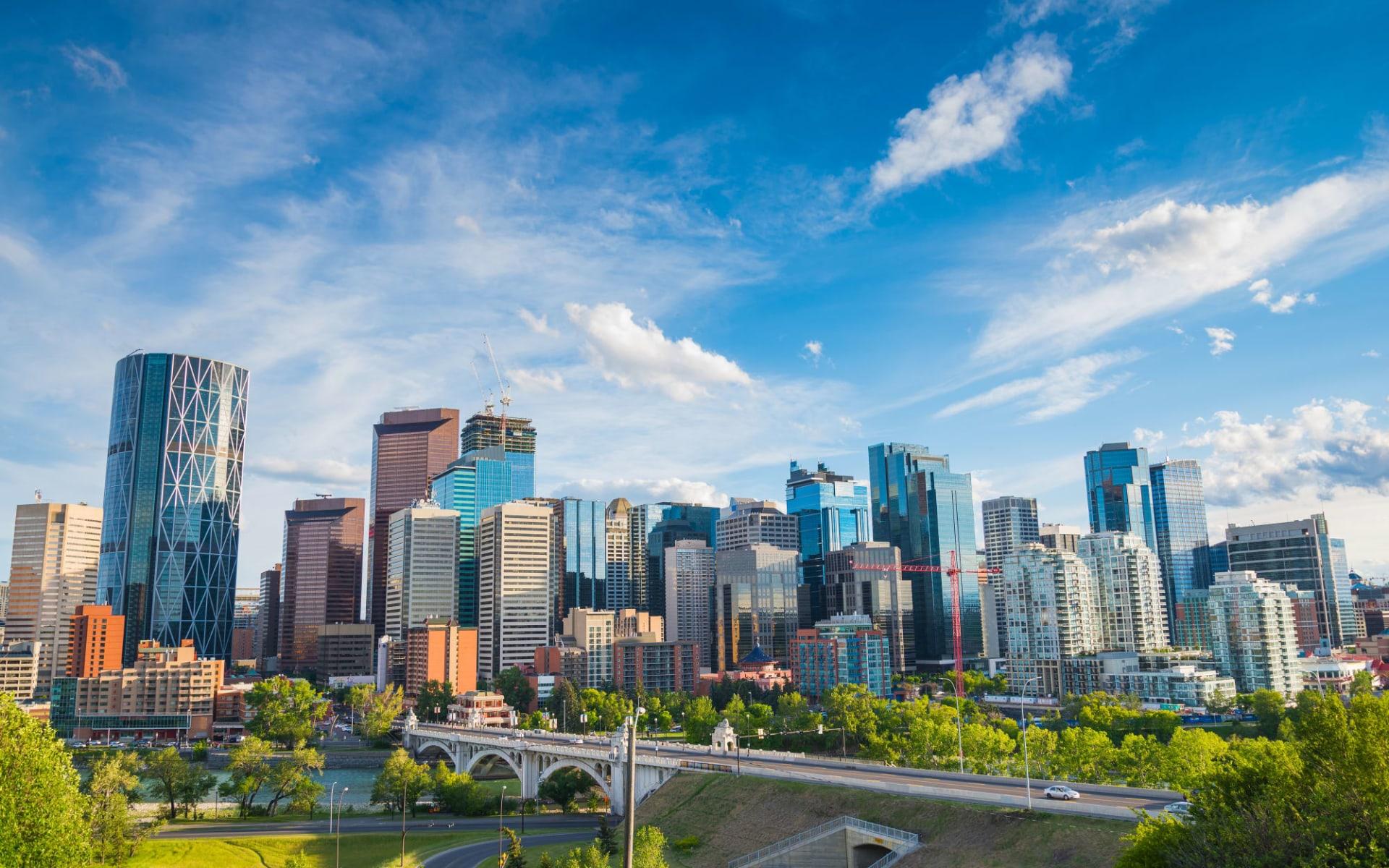 Prairie Explorer ab Calgary: Kanada - Calgary - Skyline