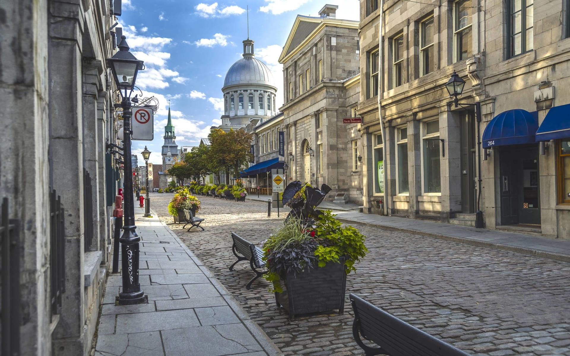 Bezaubernder Osten ab New York - Manhattan: Kanada - Montreal - Altstadt