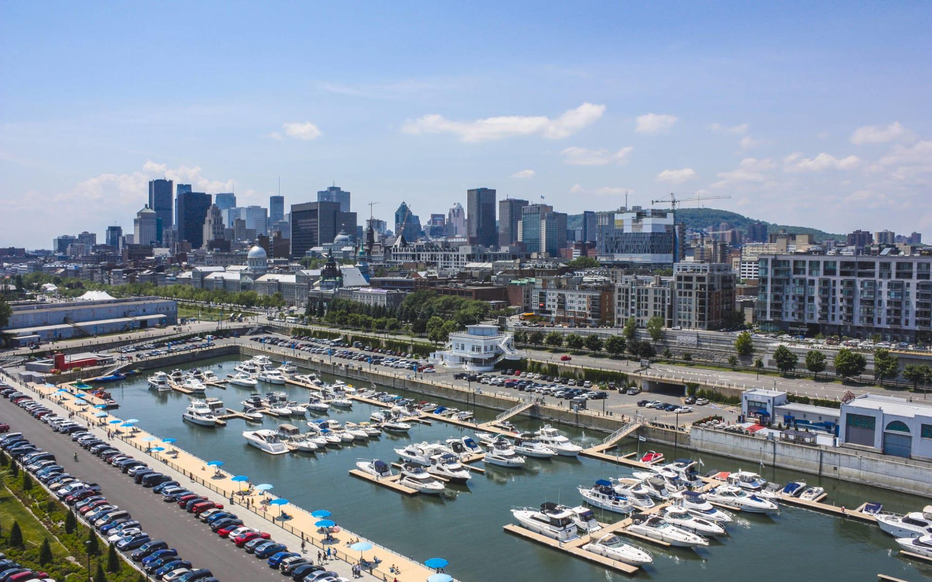 Höhepunkte Ostkanadas ab Toronto: Kanada - Montreal - Old Port Downtown