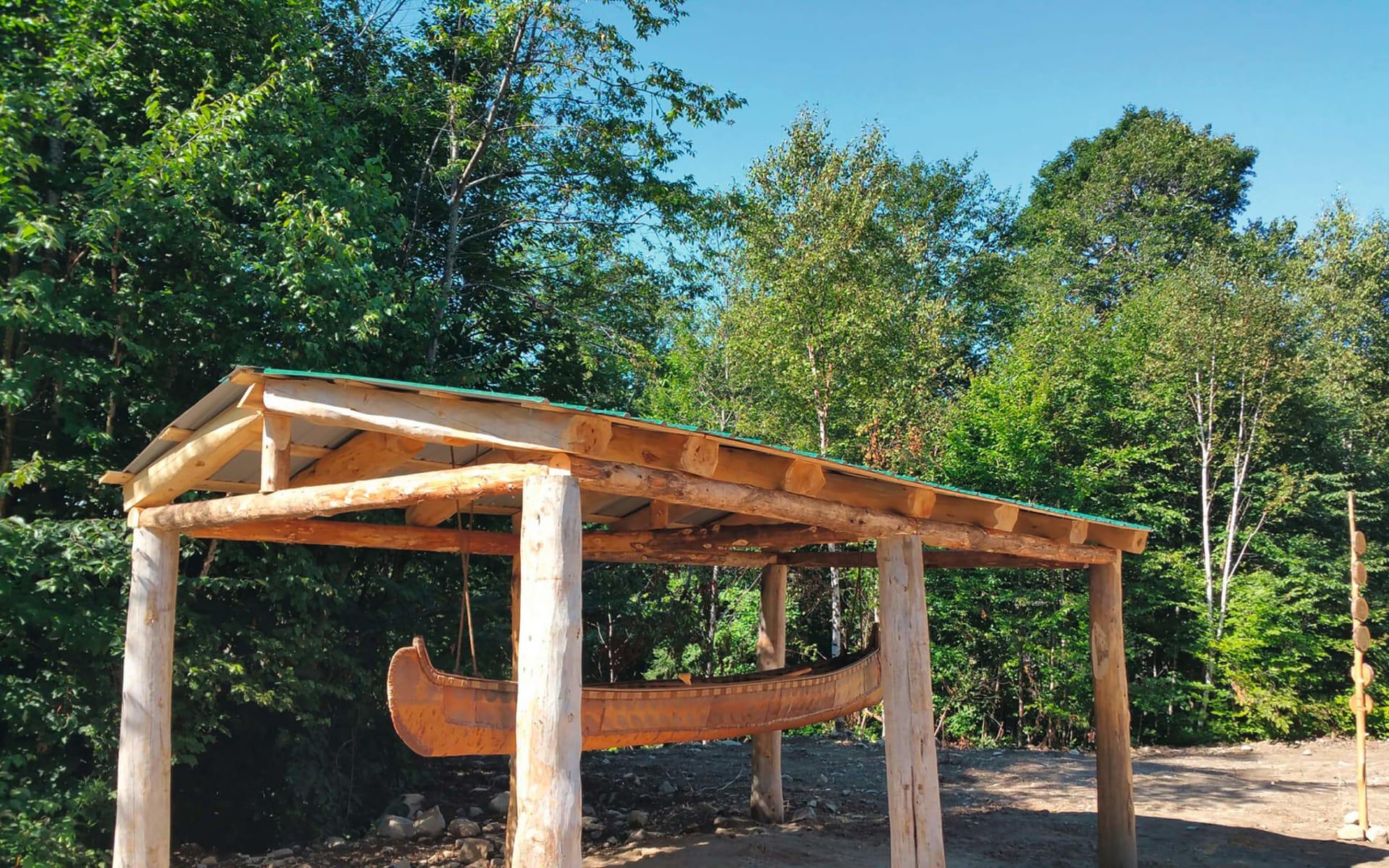 Amishk - Indianer Abenteuer Montcalm Regional Park ab St-Calixte: Kanada - Quebec - Amishk Indianer Abenteuer - Kanu