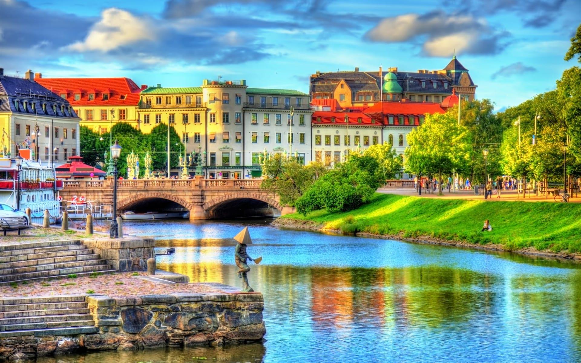 Clarion Hotel Post in Göteborg: Kanal im historischen Zentrum von Göteborg