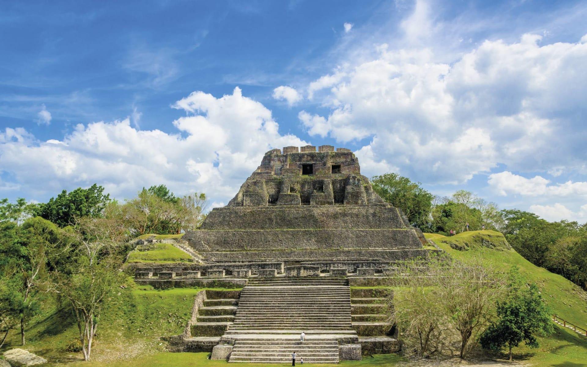Privatreise Das Erbe der Maya ab Cancun: Karibik - Belize - Ruinen von Xunantunich