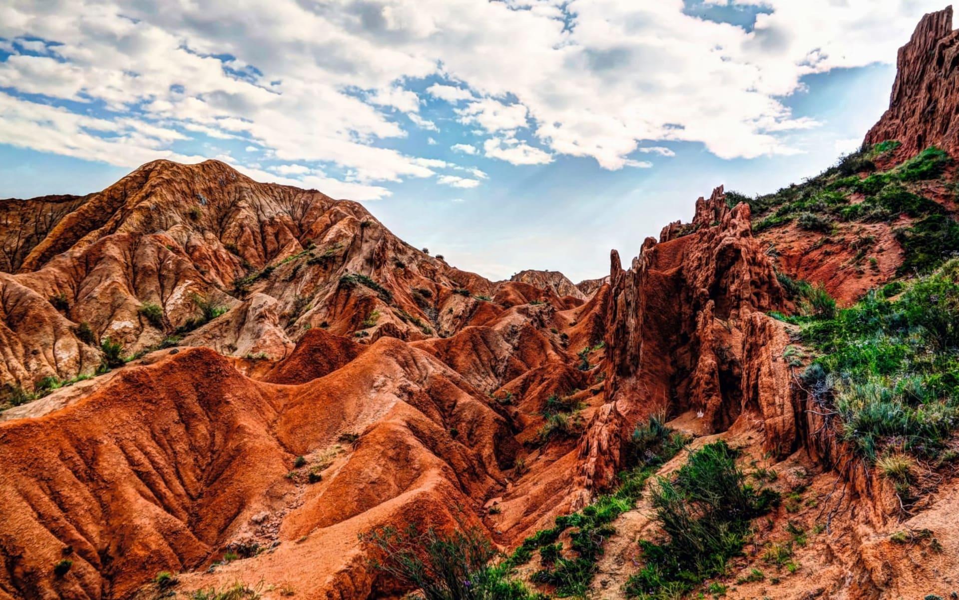 KIRA Gruppenreise: Natur pur in Kasachstan und Kirgistan ab Almaty: KI_Sakzka Canyon_shutterstock_532638562_Homo Cosmicos