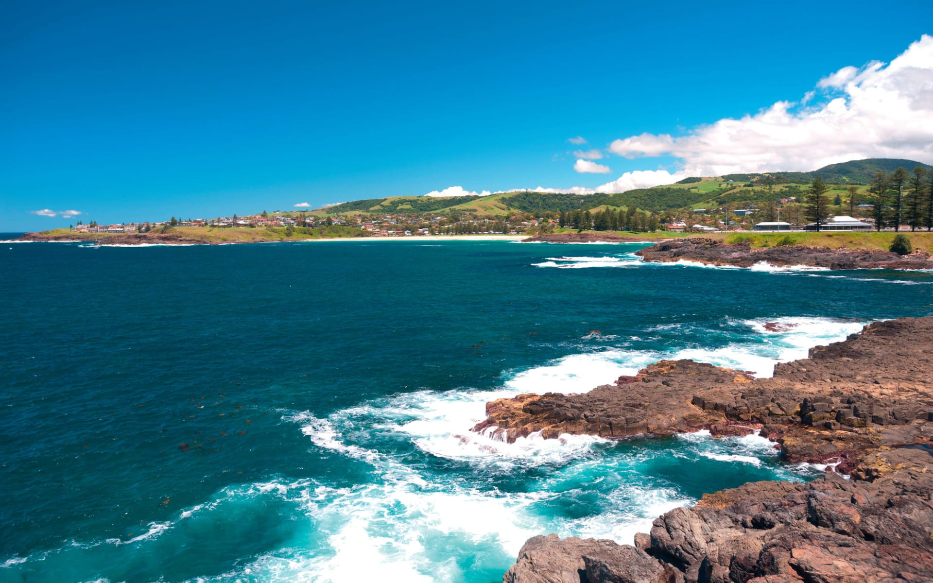 Sydney - Melbourne Coastal Drive: Kiama - Küste
