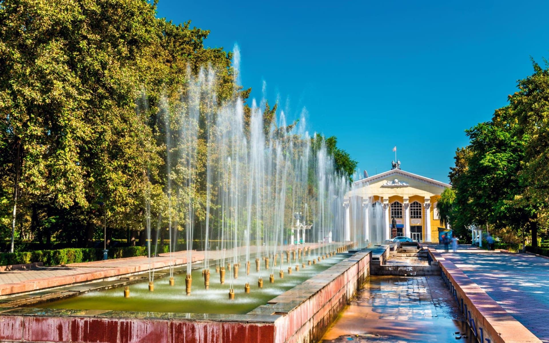 Die Wunderwelt des Tien Shan ab Bischkek: Kirgistan_Bischkek_