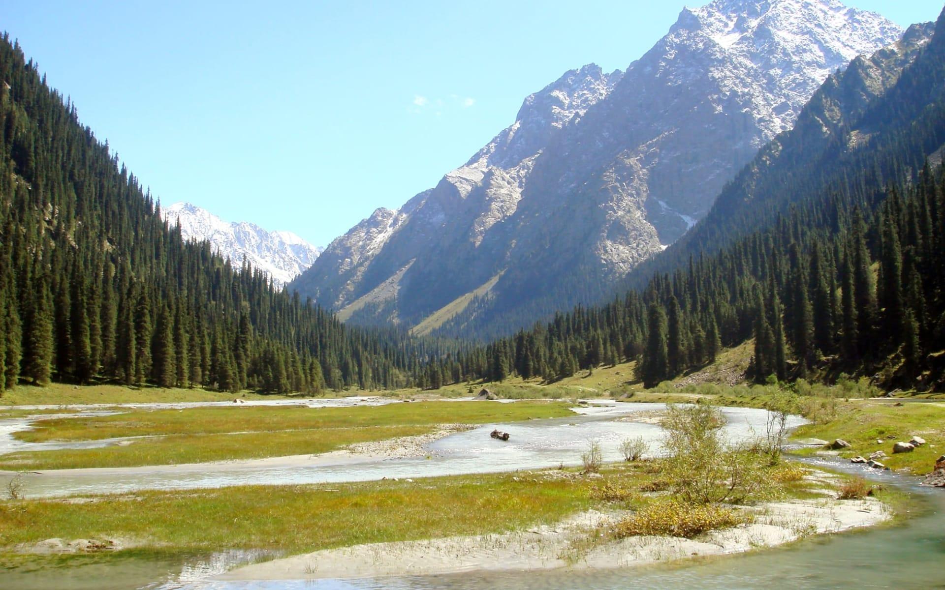 Kasachstan und Kirgistan kompakt ab Almaty: Kirgistan - Landschaft