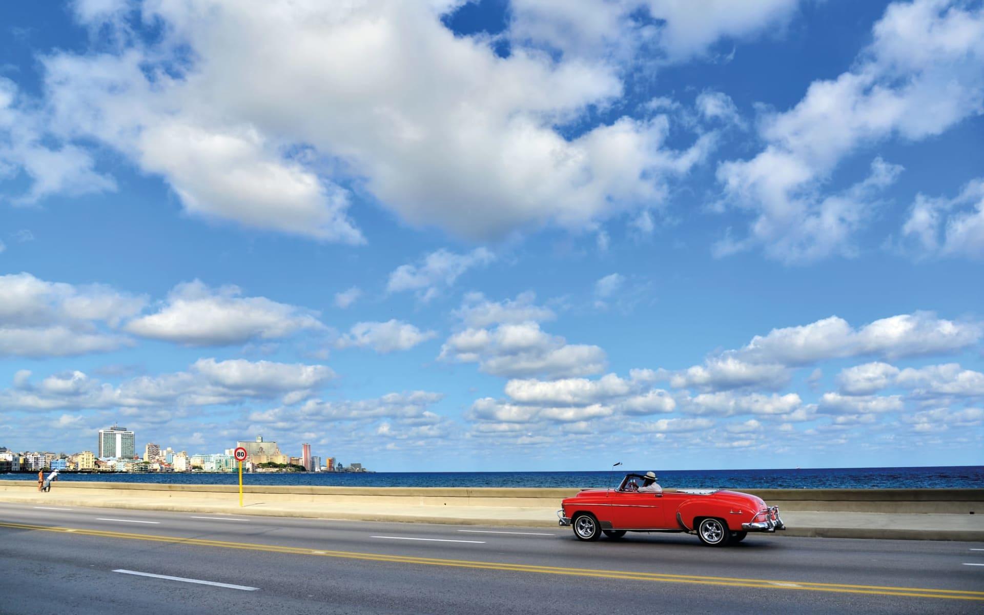 Cuba von West nach Ost ab Havanna: Kultur Oldtimer - Kuba alleine auf Strasse C