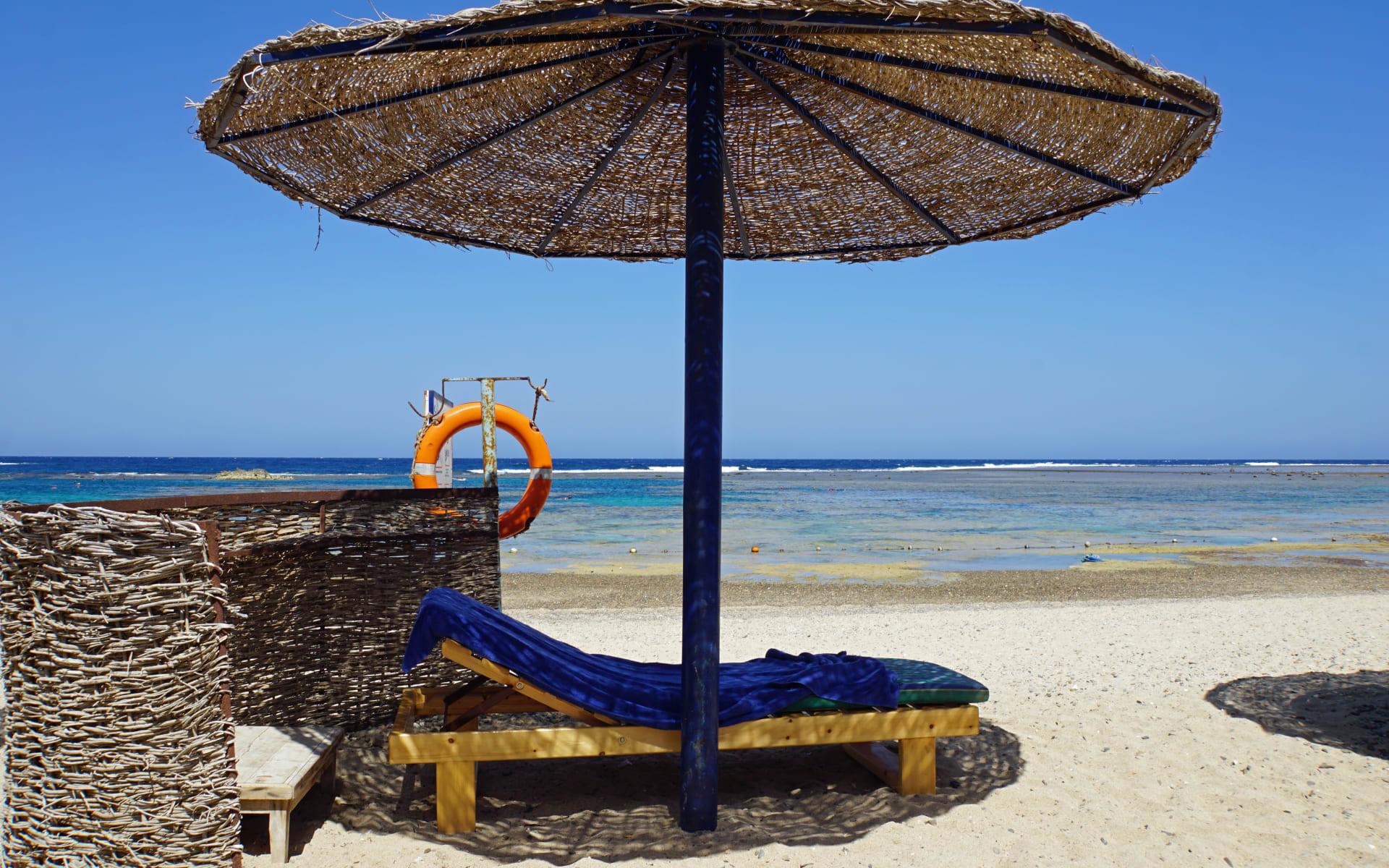 Badeferien im LTI Akassia Beach ab El Quseir: Liegestuhl El Quseir