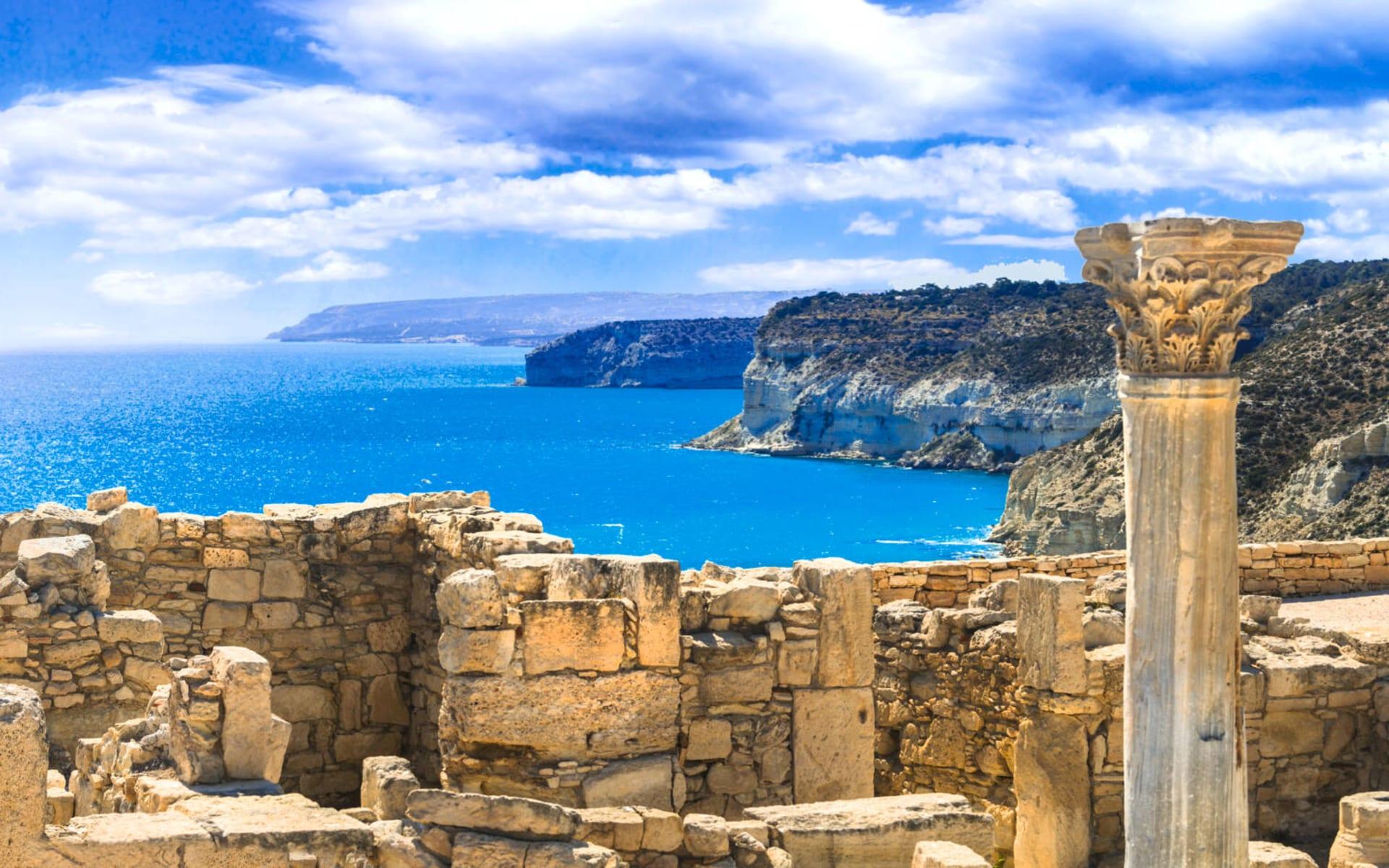 Badeferien im Hotel Elysium ab Limassol: Limassol Ruine Zypern
