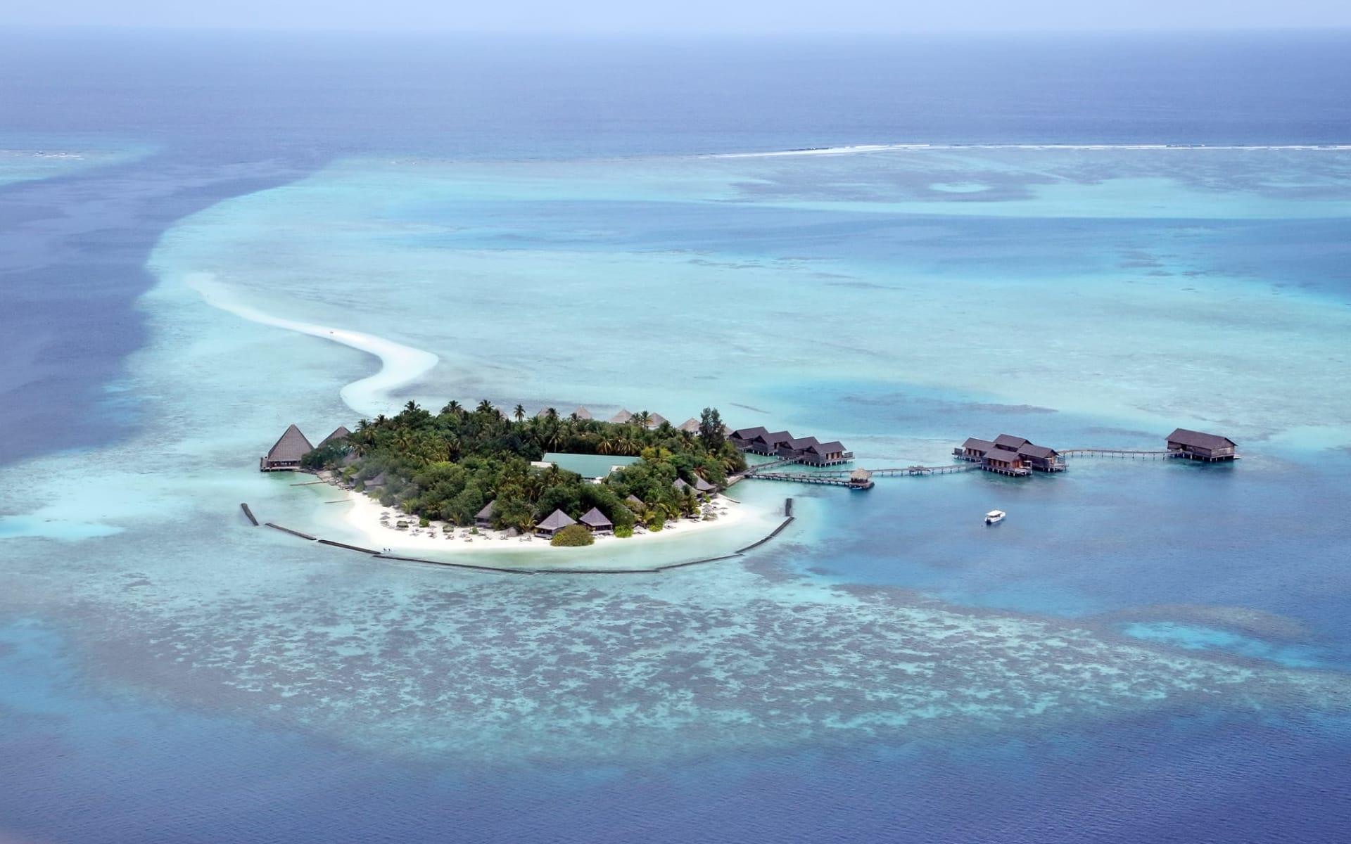 Gangehi Island Resort in Ari-Atoll:
