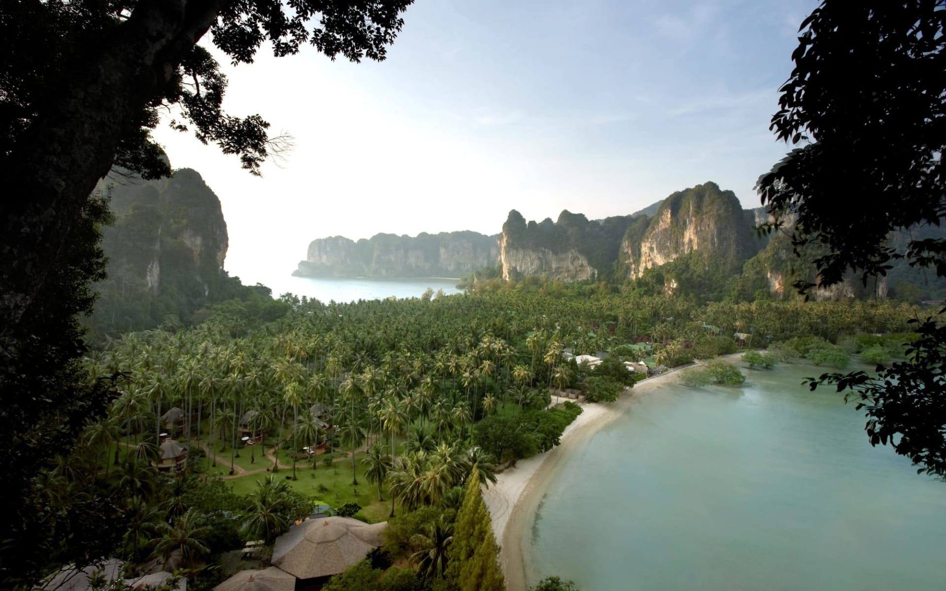Rayavadee in Krabi: Bird Eye View of Rayavadee