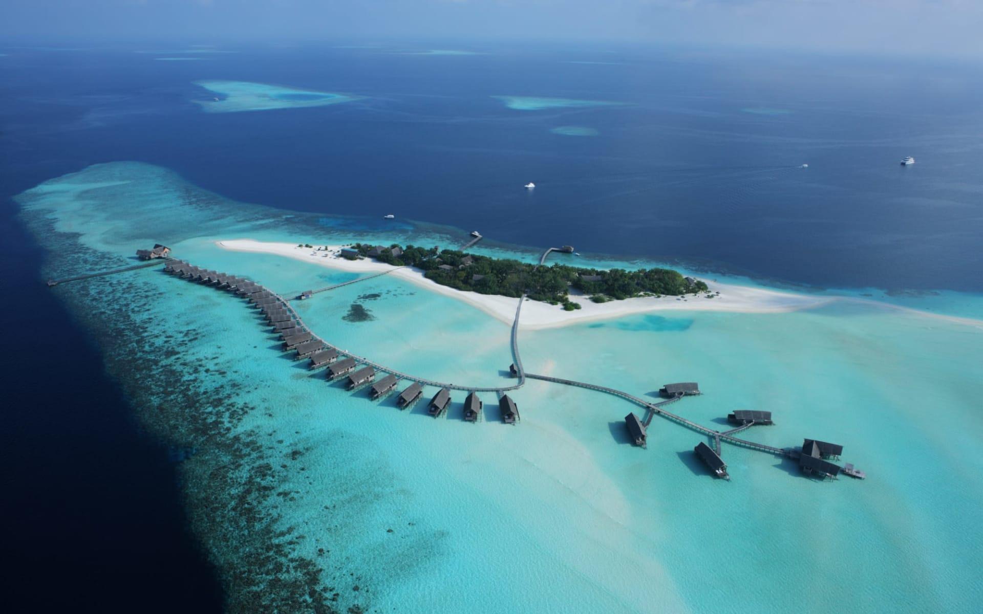 COMO Cocoa Island in Südmale-Atoll: