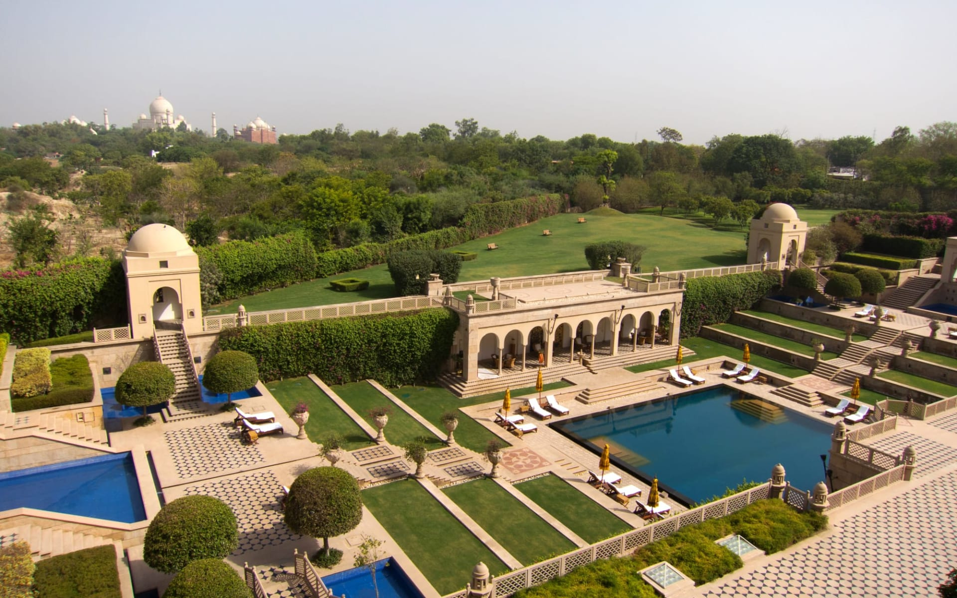 The Oberoi Amarvilas in Agra: Overview