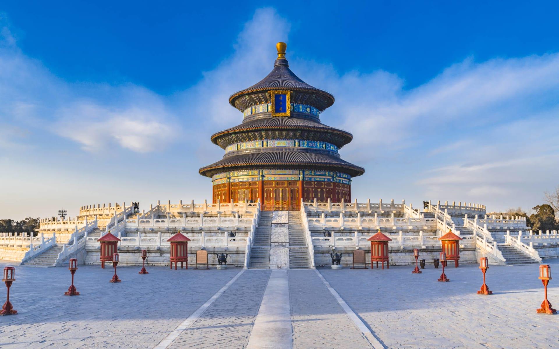 Hotel Dongfang in Peking:  Peking Himmelstempel