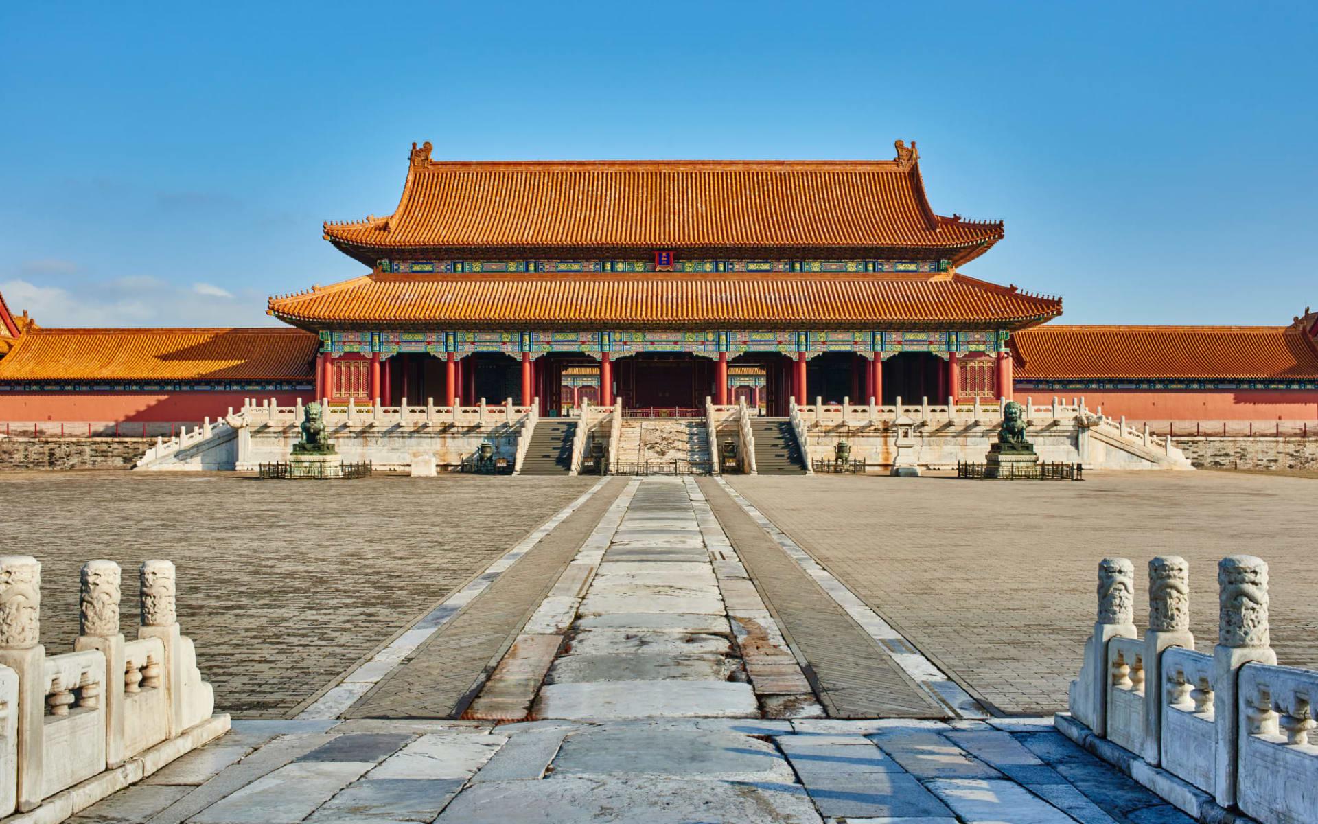 Hotel Waldorf Astoria in Peking:  Peking, verbotene Stadt