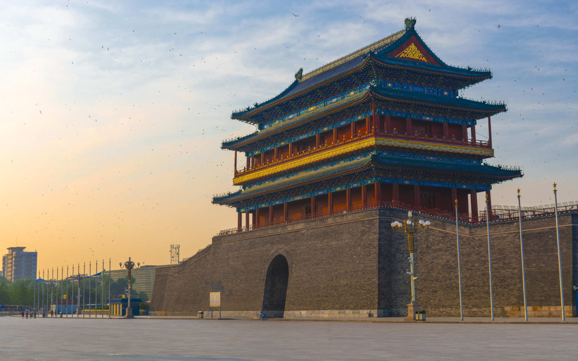 Hotel Capital in Peking:  Peking Zhengyangmen Gatehouse