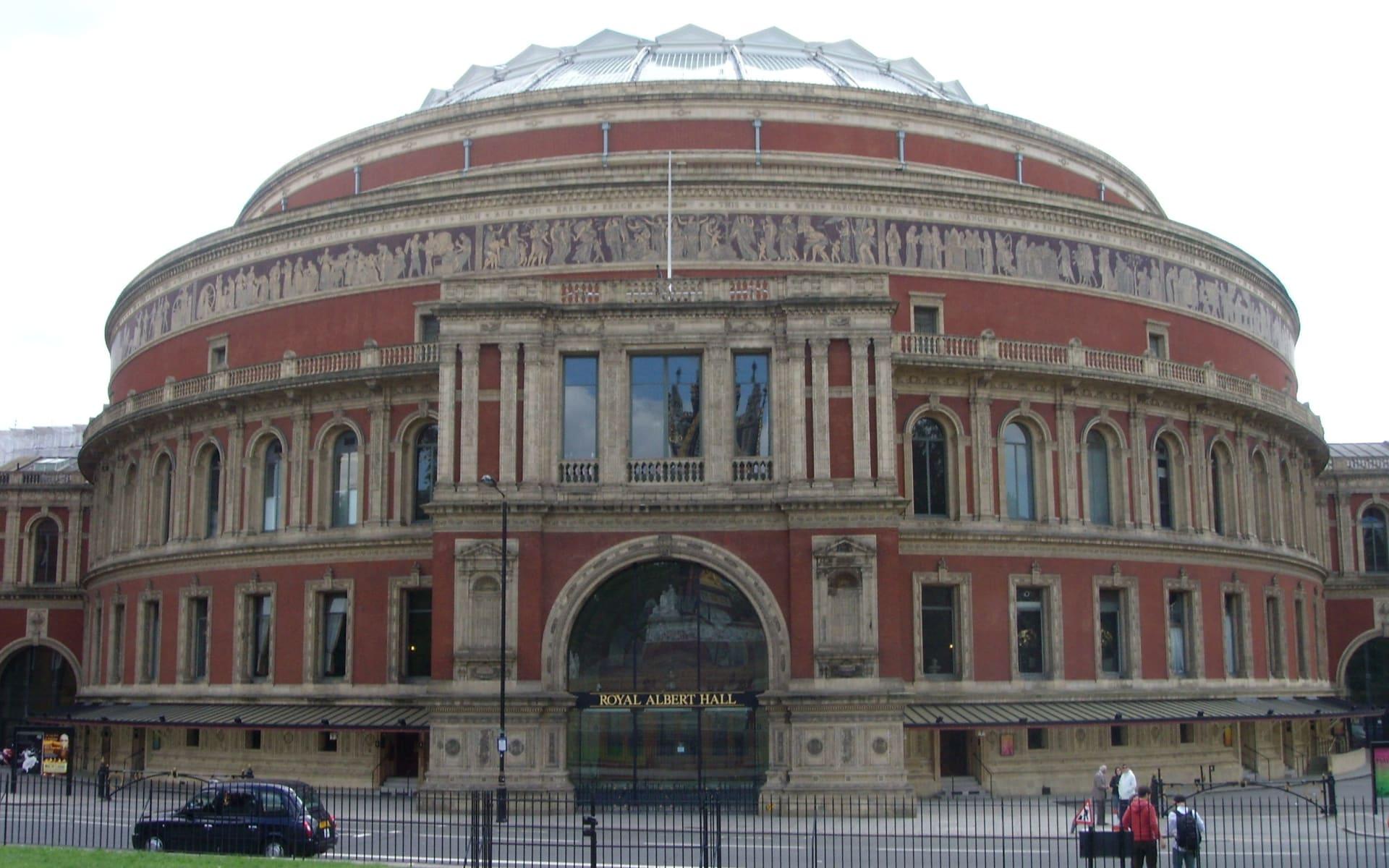 Wimbledon ab London: London_Albert Hall