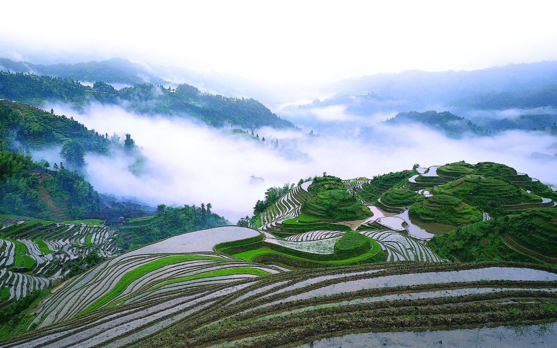China aktiv erleben ab Peking: Longsheng: Terrace