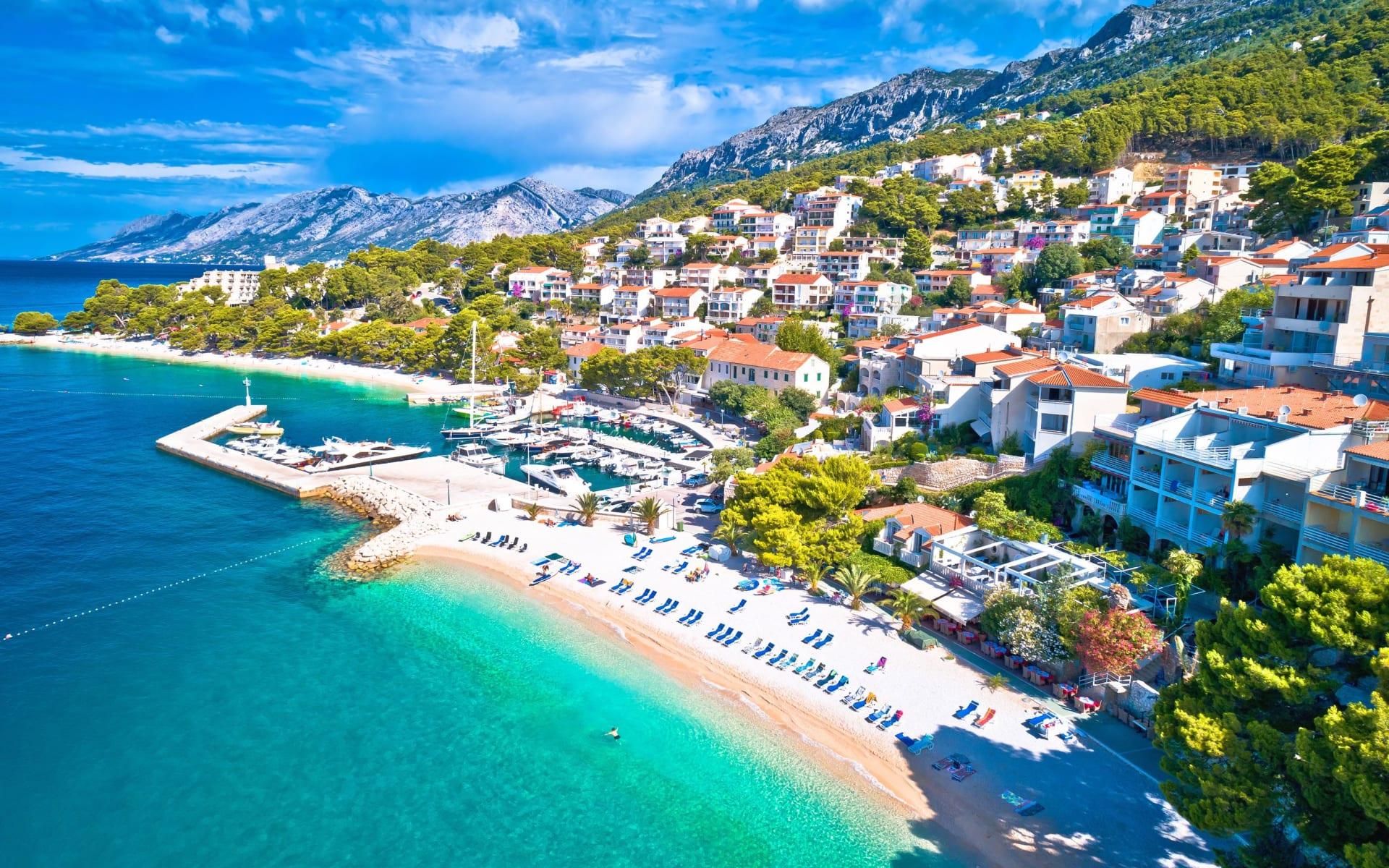 Badeferien im Romana Beach Resort ab Split: Makarska_Beach_