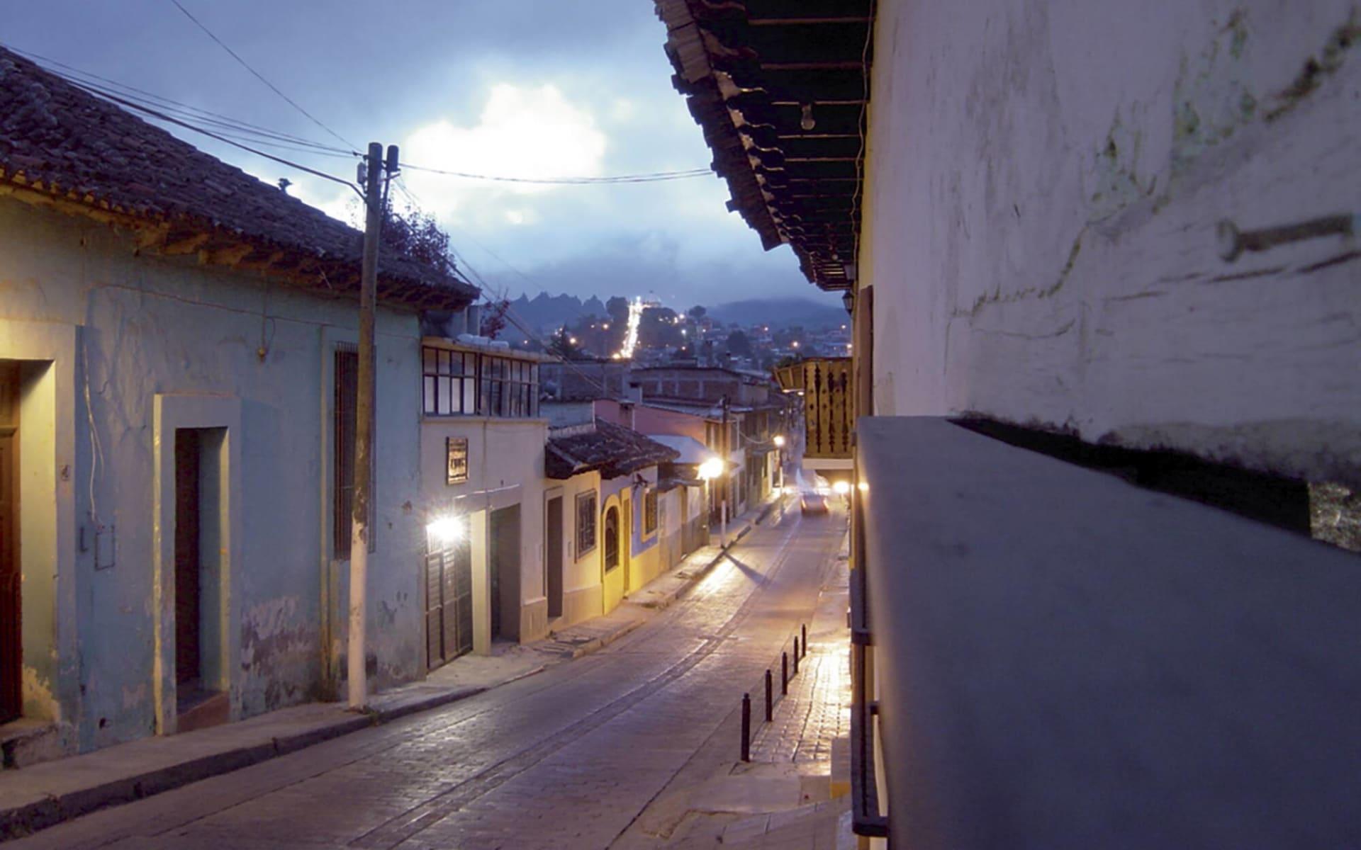 Gruppenreise Mexiko Klassik ab Mexico City: Mexico - San Cristobal - Stadtstrasse